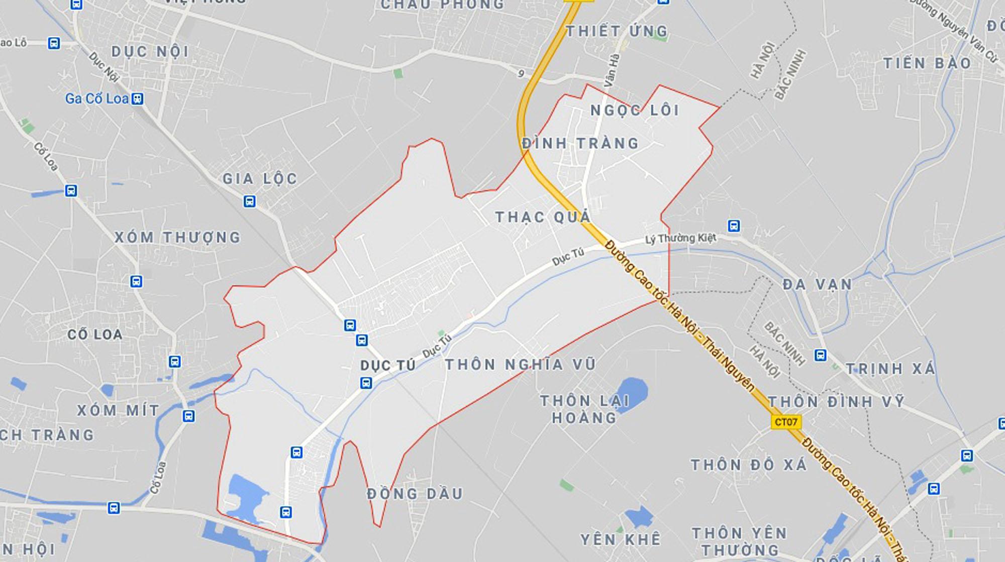 đường sẽ mở theo qui hoạch ở xã Dục Tú, Đông Anh, Hà Nội - Ảnh 1.