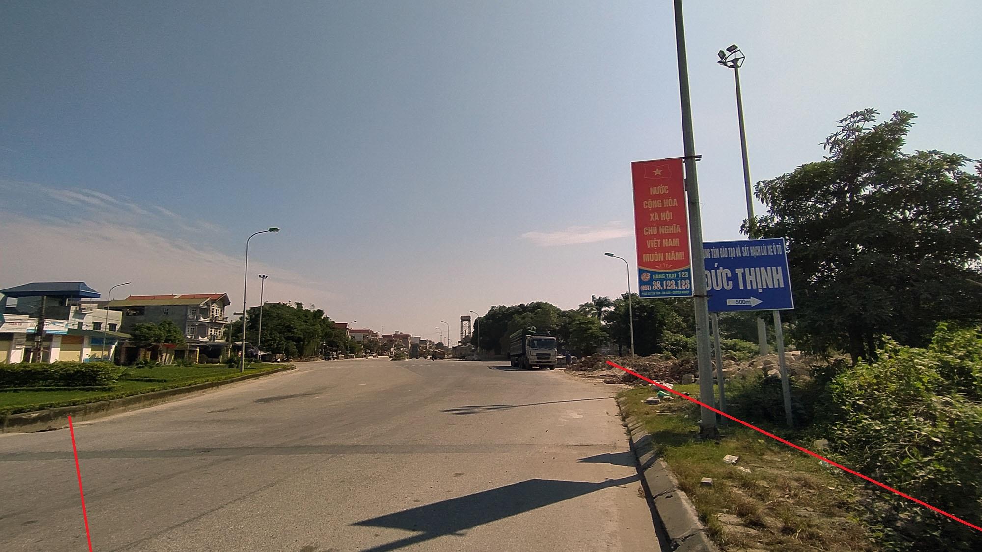 đường sẽ mở theo qui hoạch ở xã Nguyên Khê, Đông Anh, Hà Nội - Ảnh 3.