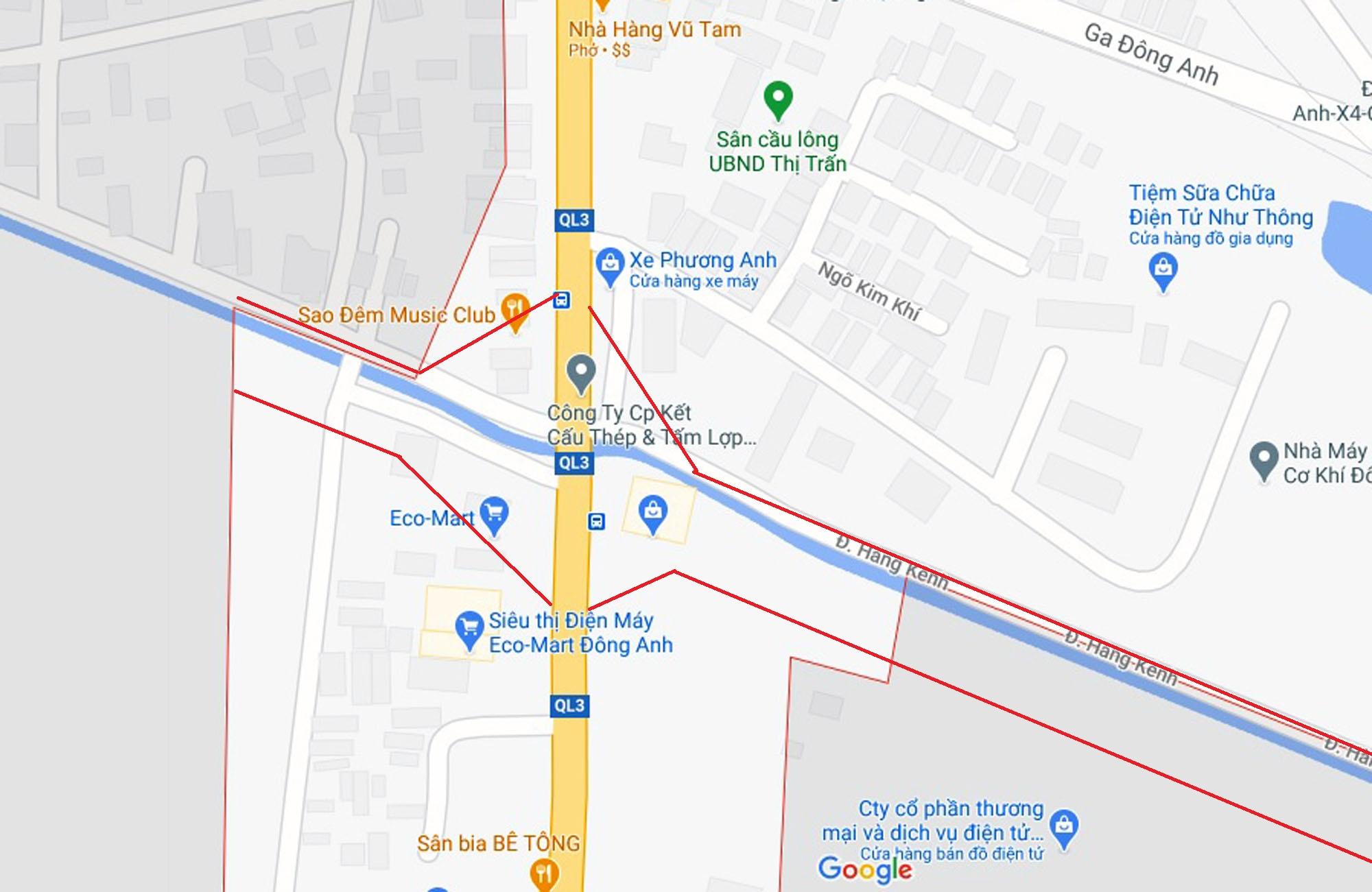 đường sẽ mở theo qui hoạch ở TT. Đông Anh, Đông Anh, Hà Nội - Ảnh 2.