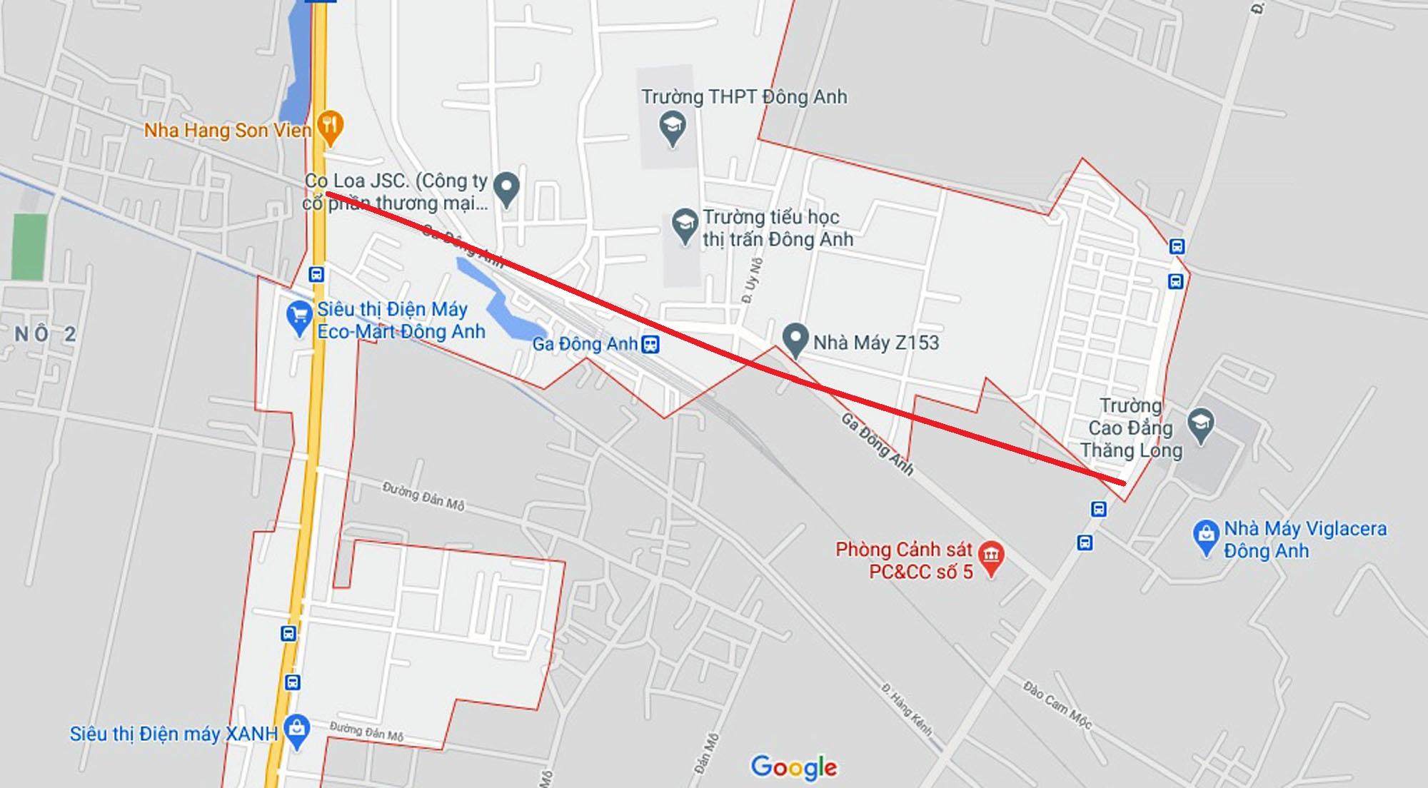 Ba đường sẽ mở theo qui hoạch ở TT. Đông Anh, Đông Anh, Hà Nội - Ảnh 9.