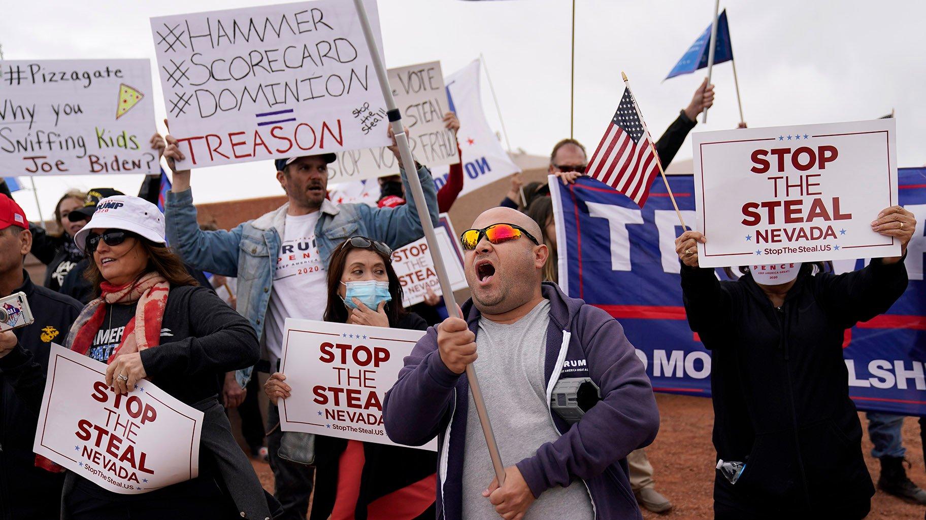 Phe biểu tình ủng hộ ông Trump sẽ ùa về thủ đô Washington trong ngày 14/11 - Ảnh 1.