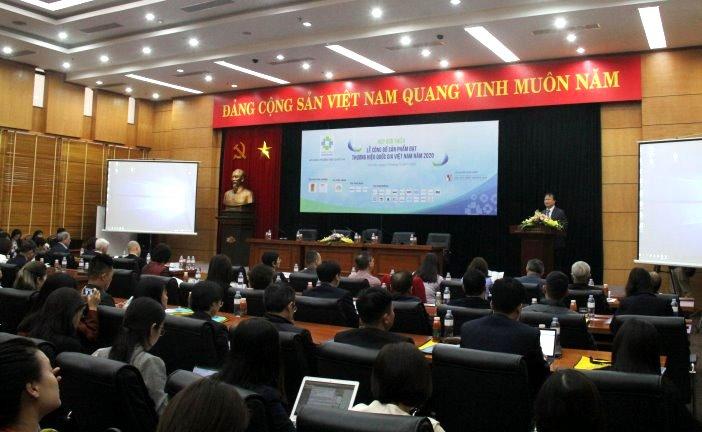 Hơn 120 doanh nghiệp có sản phẩm đạt Thương hiệu quốc gia Việt Nam 2020 - Ảnh 1.