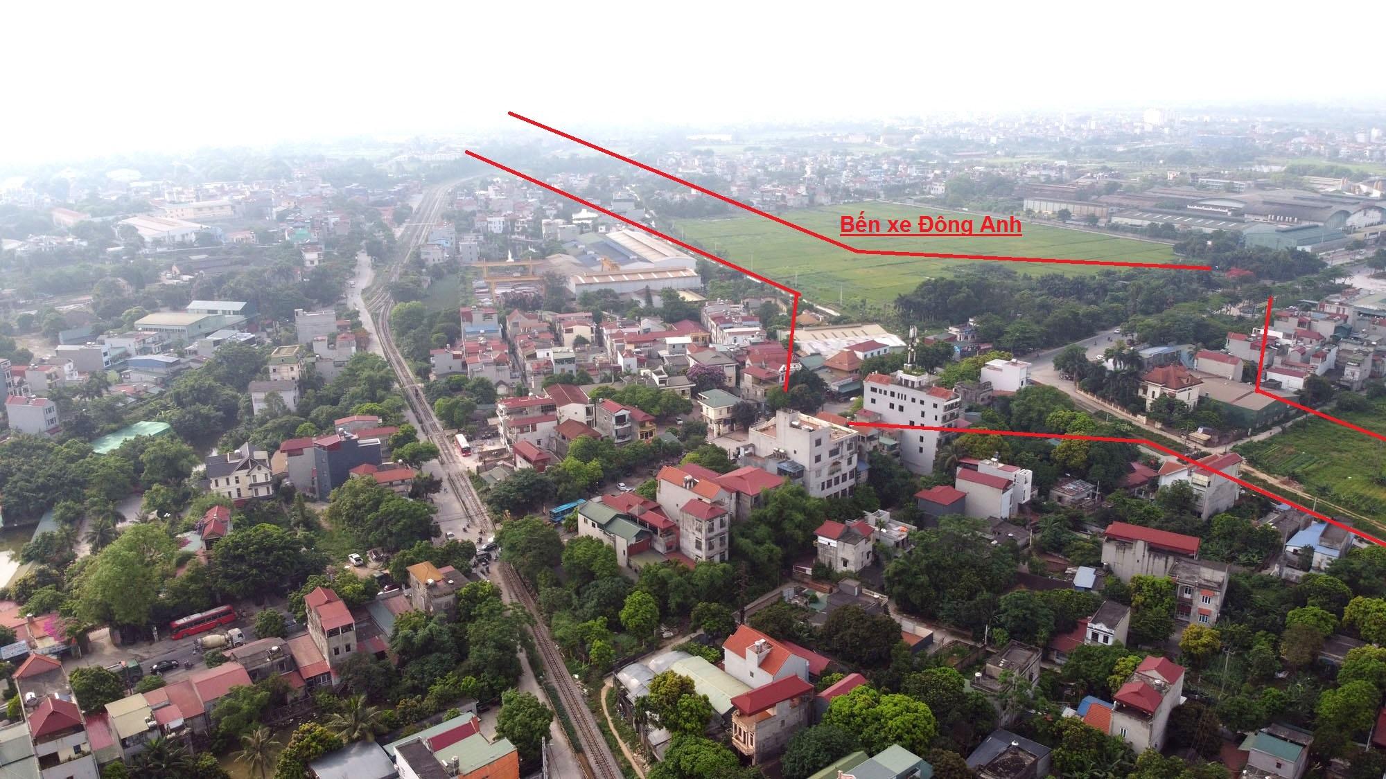 đường sẽ mở theo qui hoạch ở xã Uy Nỗ, Đông Anh, Hà Nội - Ảnh 4.