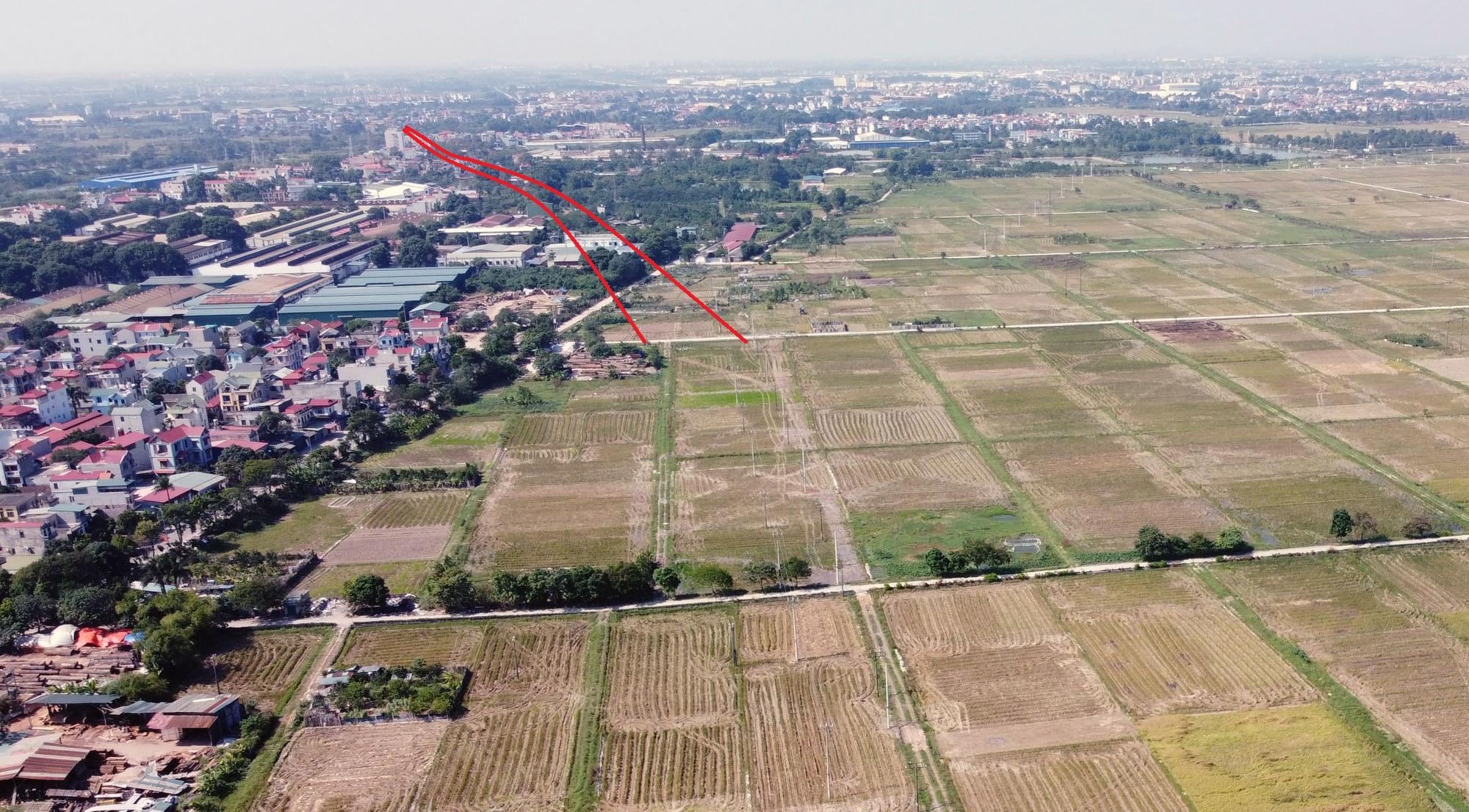 đường sẽ mở theo qui hoạch ở xã Uy Nỗ, Đông Anh, Hà Nội - Ảnh 5.
