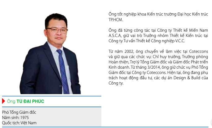 Thêm một Phó TGĐ dưới thời ông Nguyễn Bá Dương rời Coteccons - Ảnh 1.