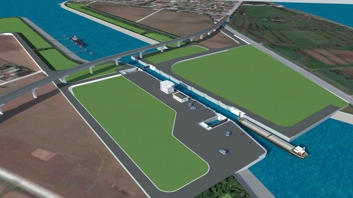 Động thổ kênh đào hơn 107 triệu USD nối sông Đáy - Ninh Cơ - Ảnh 1.