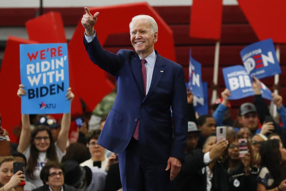Bước đường tiến tới ngưỡng cửa Nhà Trắng của ông Biden - Ảnh 1.