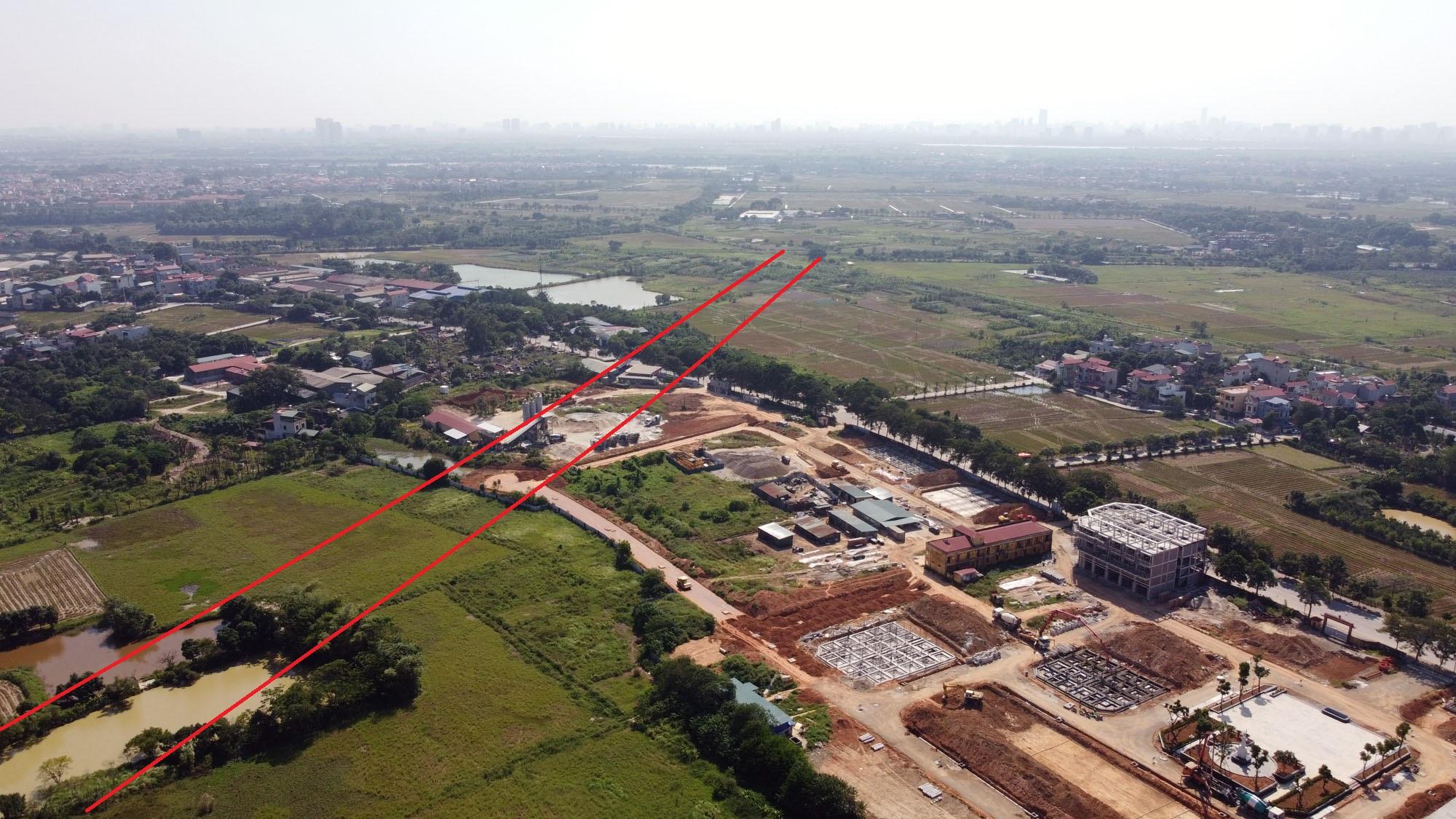 đường sẽ mở theo qui hoạch ở xã Uy Nỗ, Đông Anh, Hà Nội - Ảnh 8.
