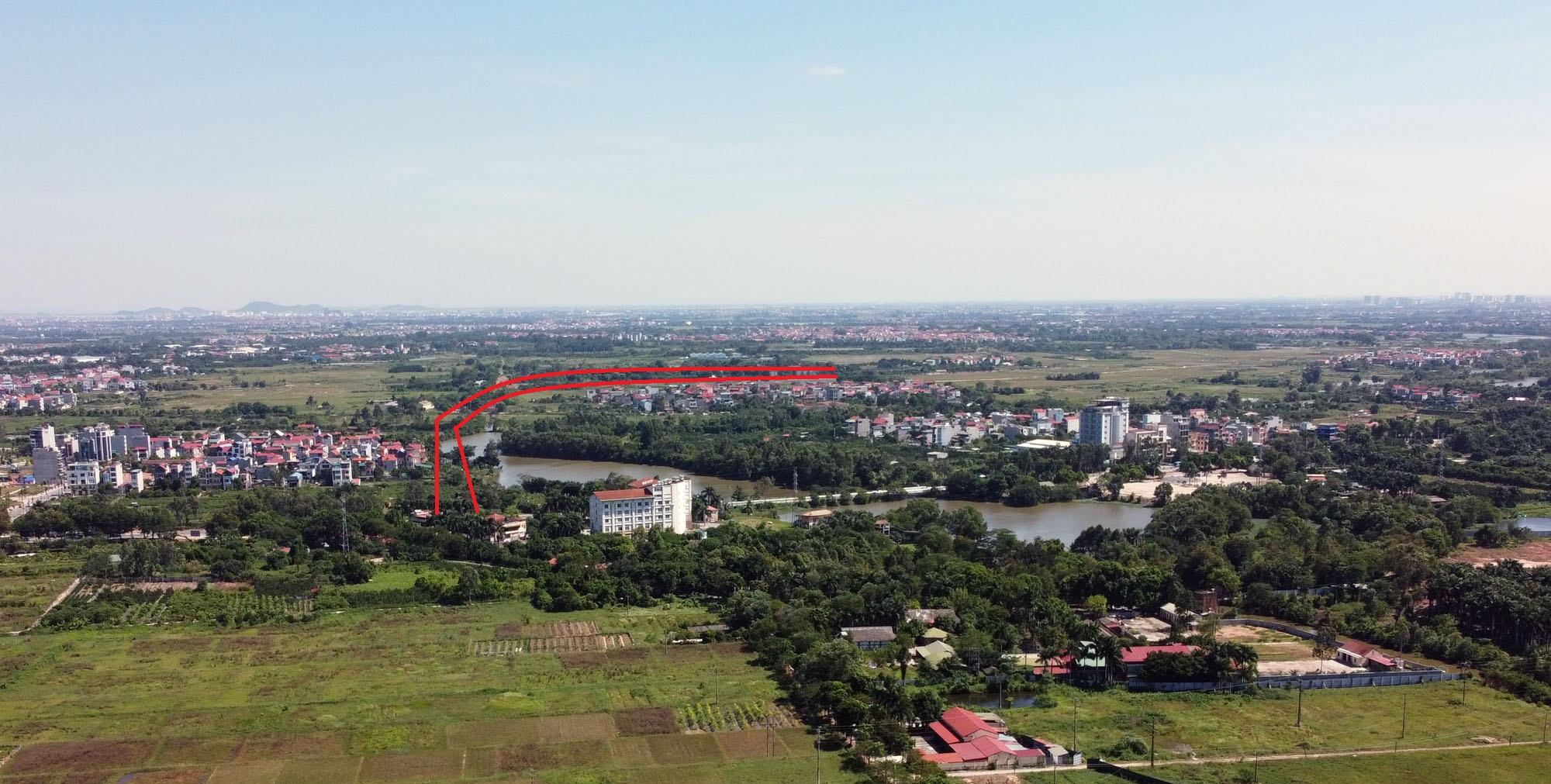 đường sẽ mở theo qui hoạch ở xã Uy Nỗ, Đông Anh, Hà Nội - Ảnh 11.