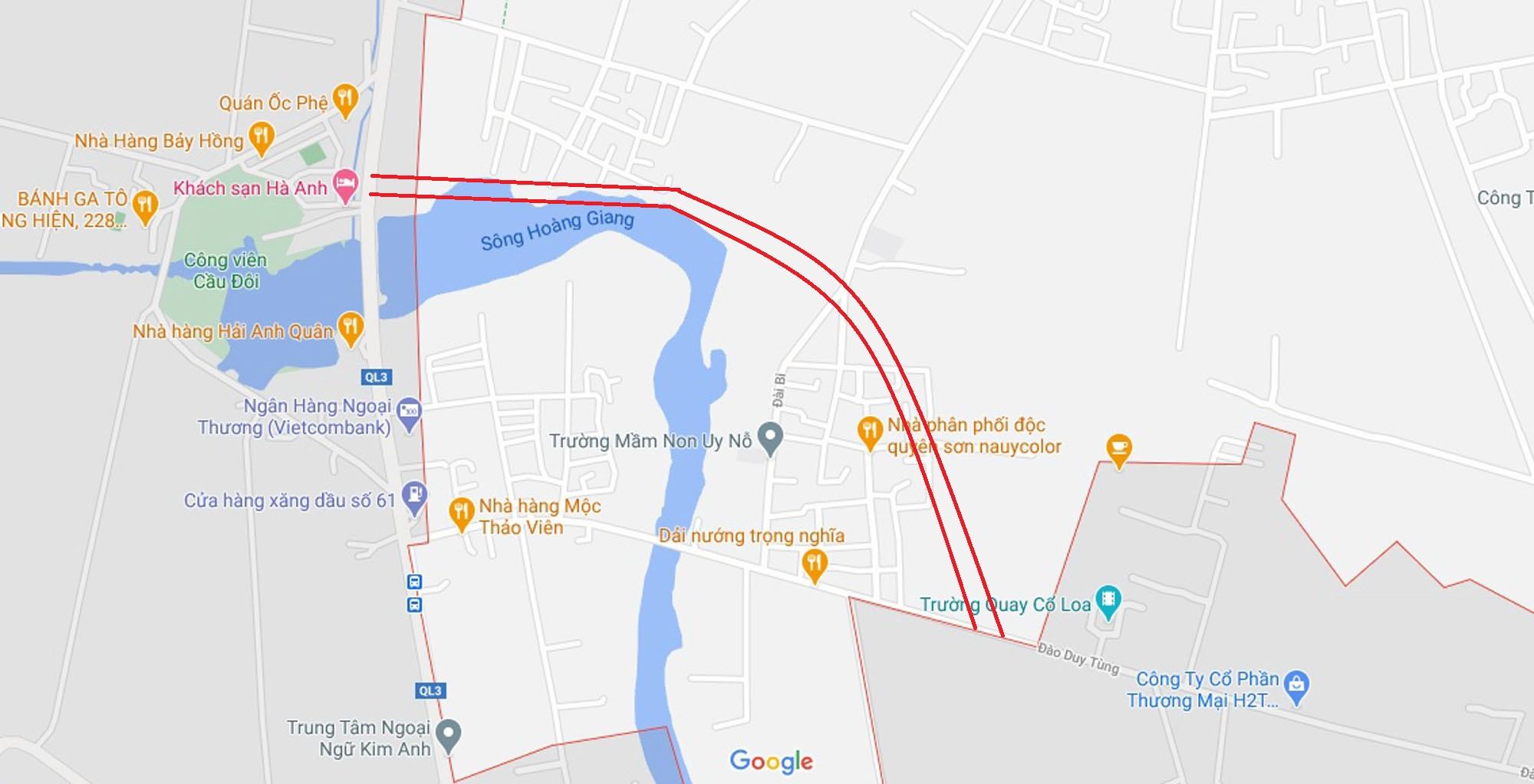 đường sẽ mở theo qui hoạch ở xã Uy Nỗ, Đông Anh, Hà Nội - Ảnh 10.