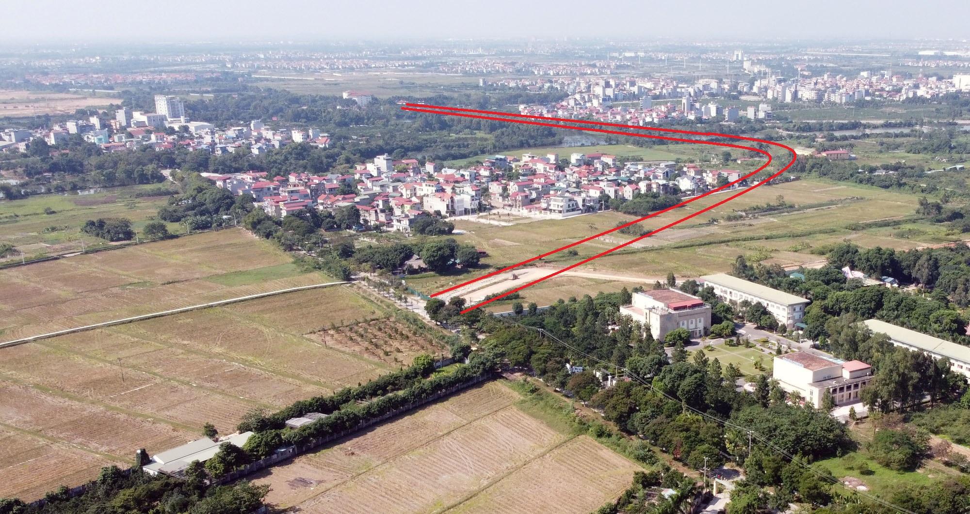 đường sẽ mở theo qui hoạch ở xã Uy Nỗ, Đông Anh, Hà Nội - Ảnh 12.