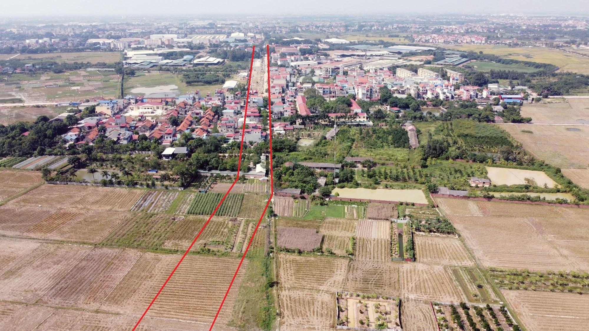 Ba đường sẽ mở theo qui hoạch ở xã Xuân Nộn, Đông Anh, Hà Nội - Ảnh 3.