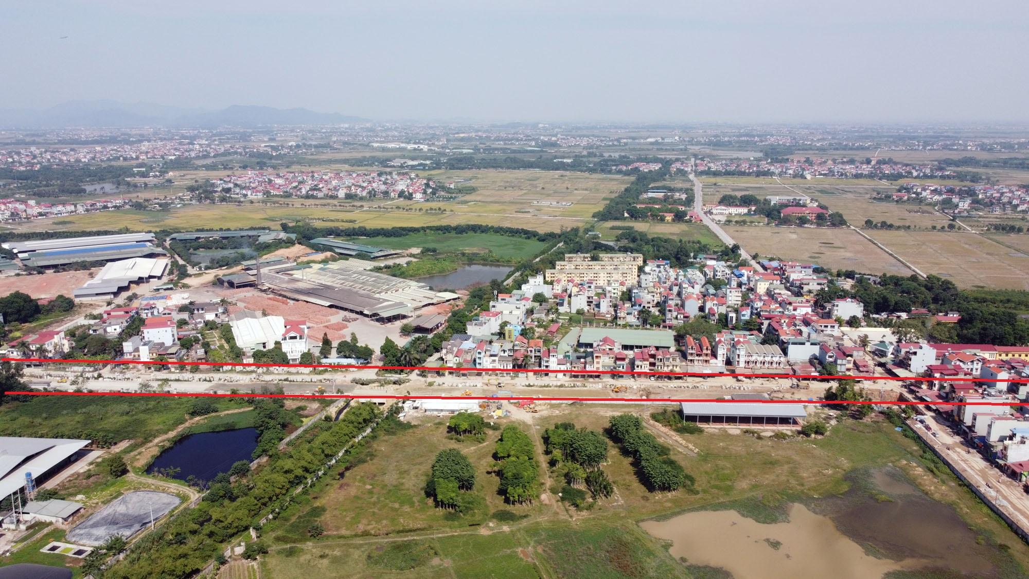 Ba đường sẽ mở theo qui hoạch ở xã Xuân Nộn, Đông Anh, Hà Nội - Ảnh 4.