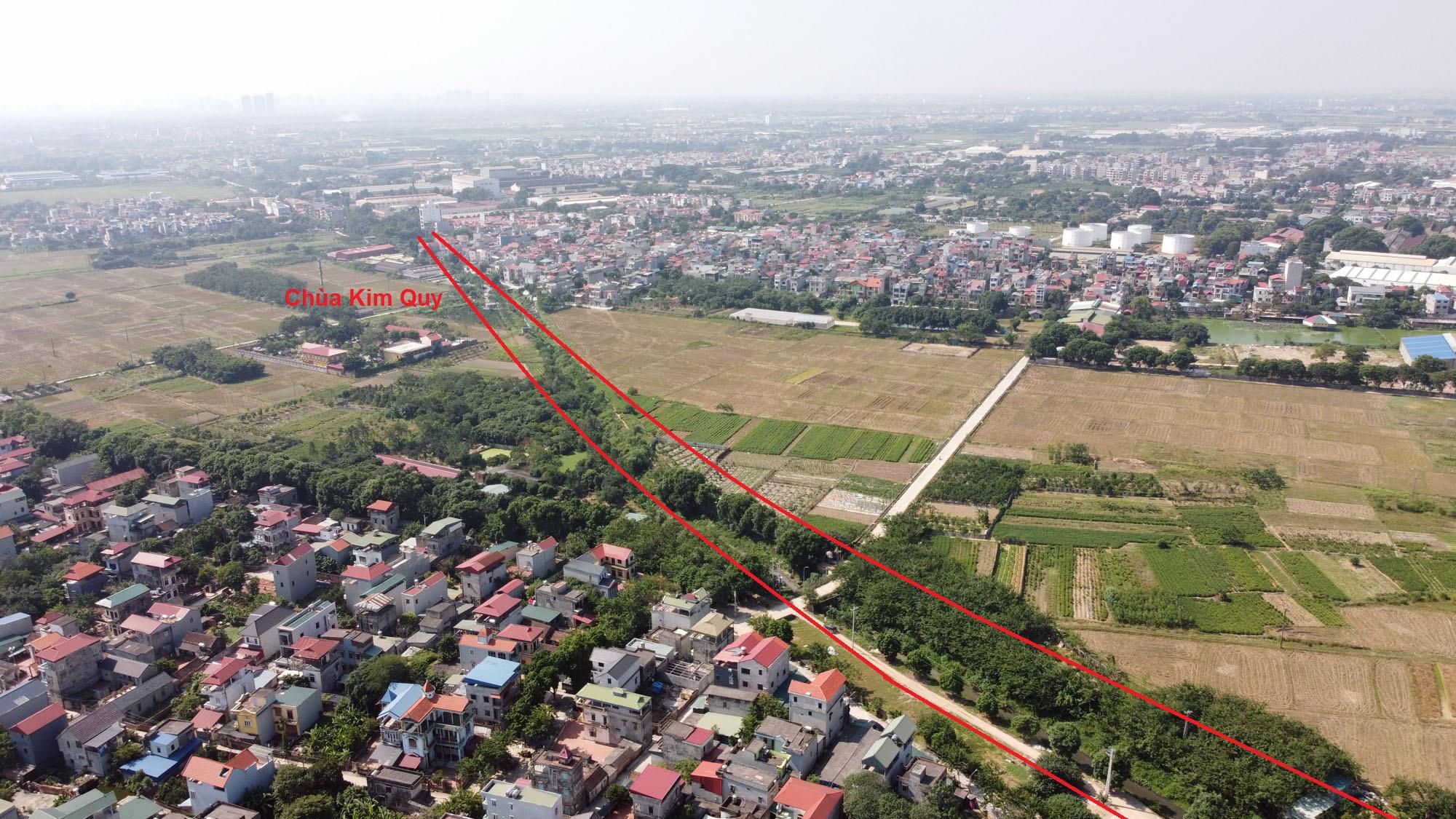 Ba đường sẽ mở theo qui hoạch ở xã Xuân Nộn, Đông Anh, Hà Nội - Ảnh 7.