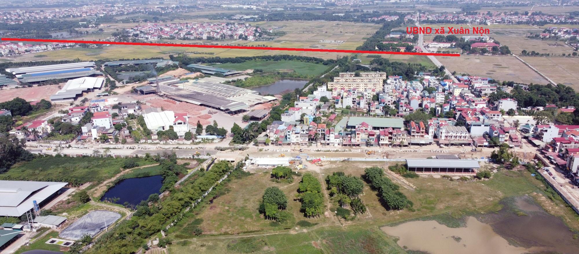 Ba đường sẽ mở theo qui hoạch ở xã Xuân Nộn, Đông Anh, Hà Nội - Ảnh 10.