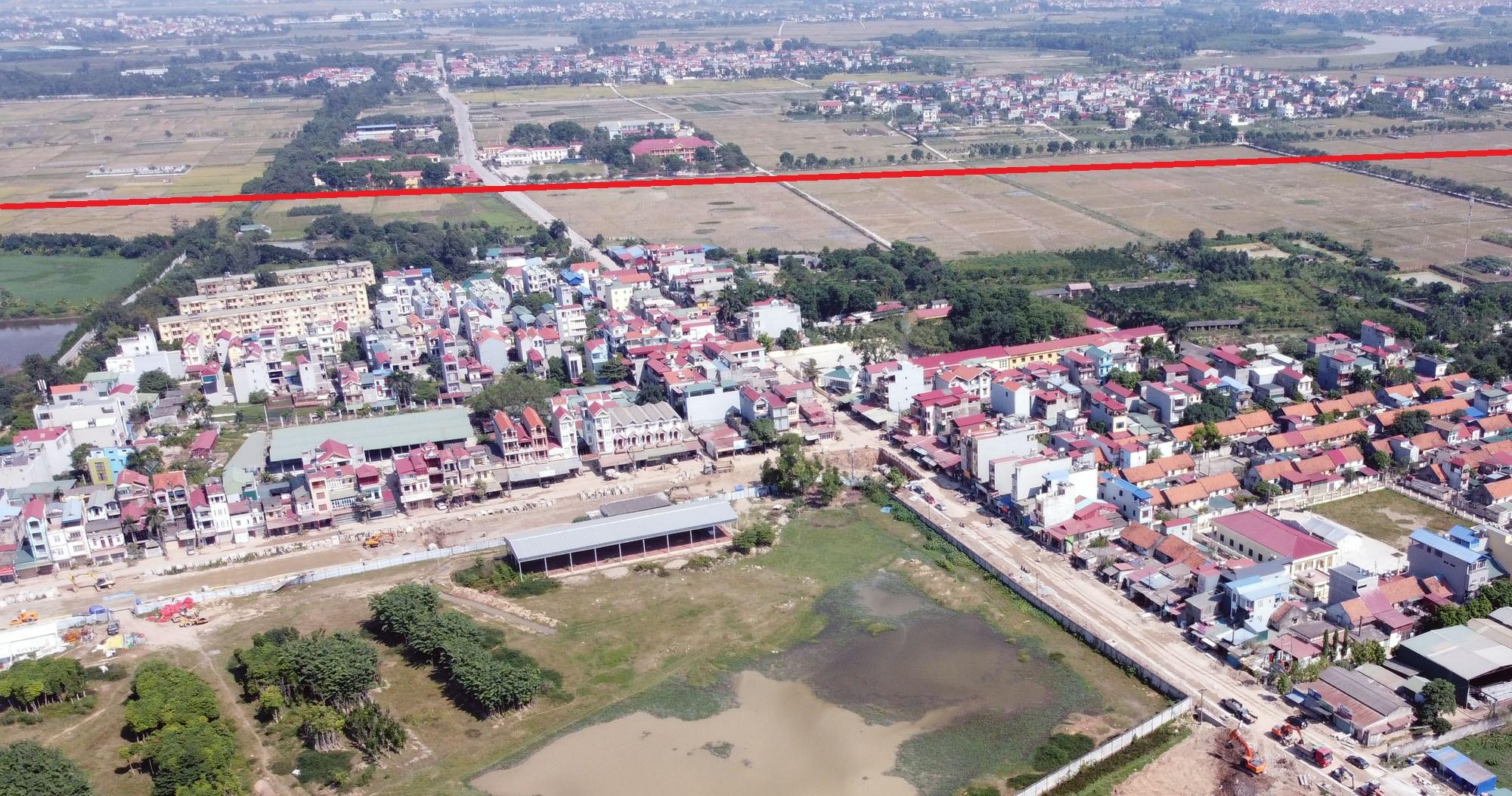 Ba đường sẽ mở theo qui hoạch ở xã Xuân Nộn, Đông Anh, Hà Nội - Ảnh 11.