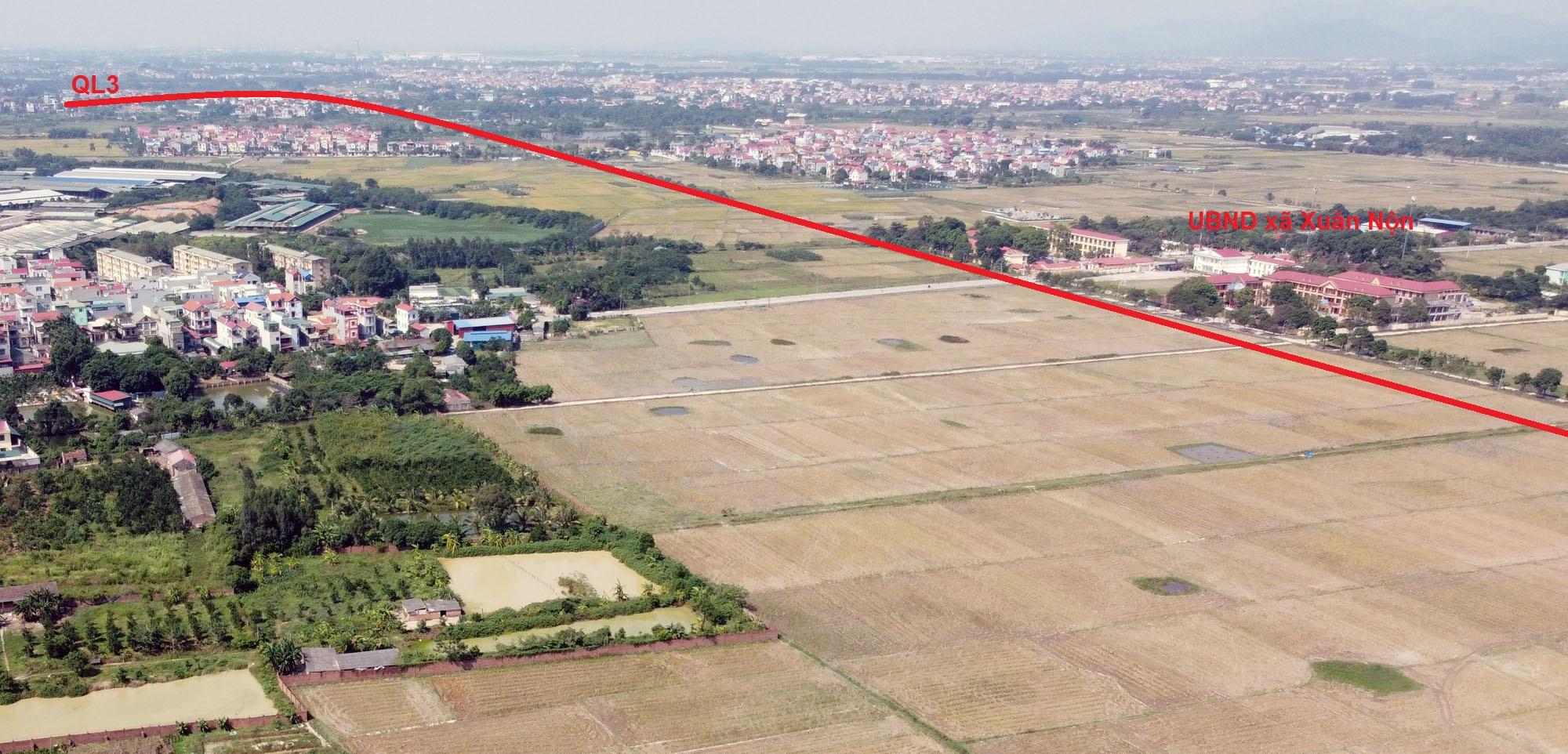 Ba đường sẽ mở theo qui hoạch ở xã Xuân Nộn, Đông Anh, Hà Nội - Ảnh 12.