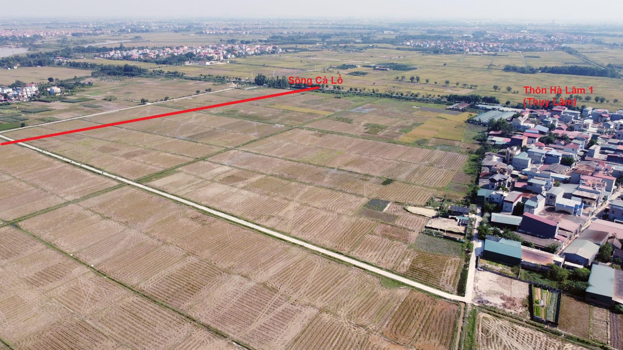 Ba đường sẽ mở theo qui hoạch ở xã Xuân Nộn, Đông Anh, Hà Nội - Ảnh 13.