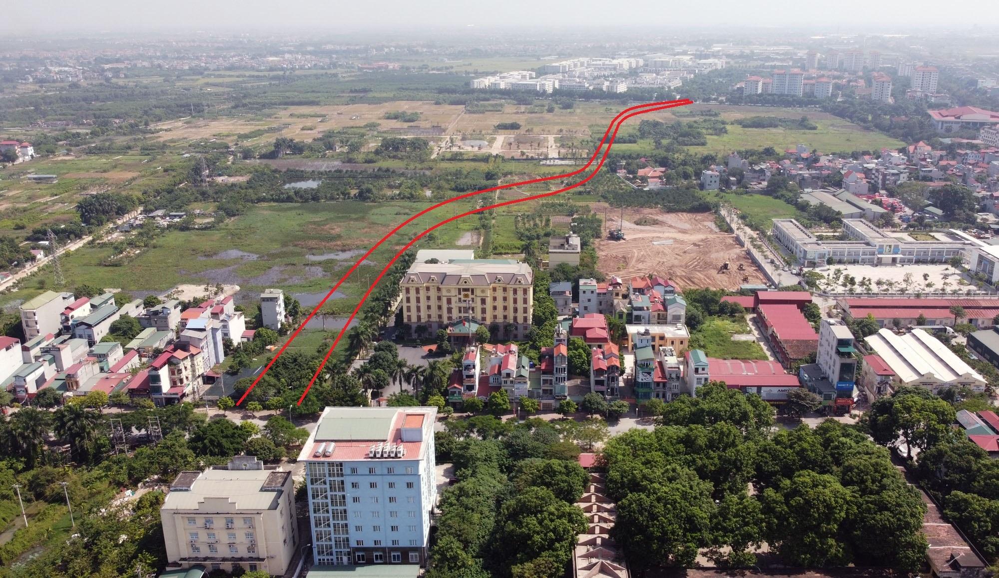 đường sẽ mở theo qui hoạch ở xã Cổ Bi, Gia Lâm, Hà Nội - Ảnh 8.
