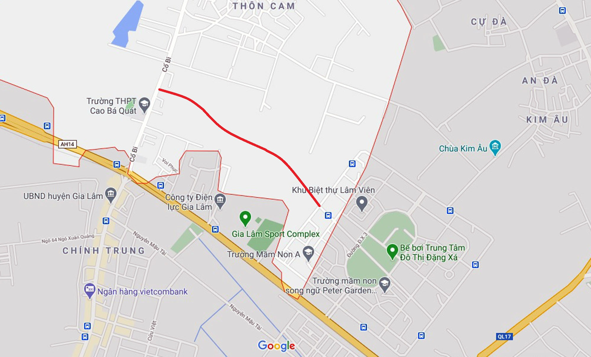 đường sẽ mở theo qui hoạch ở xã Cổ Bi, Gia Lâm, Hà Nội - Ảnh 7.