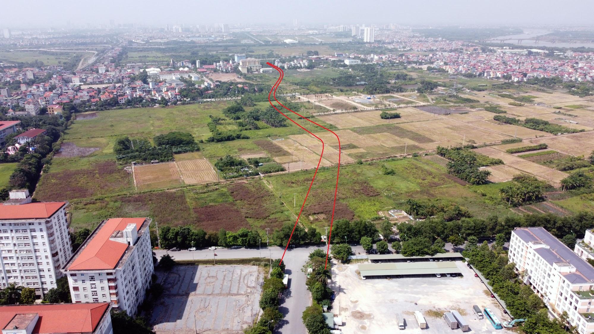 đường sẽ mở theo qui hoạch ở xã Cổ Bi, Gia Lâm, Hà Nội - Ảnh 9.