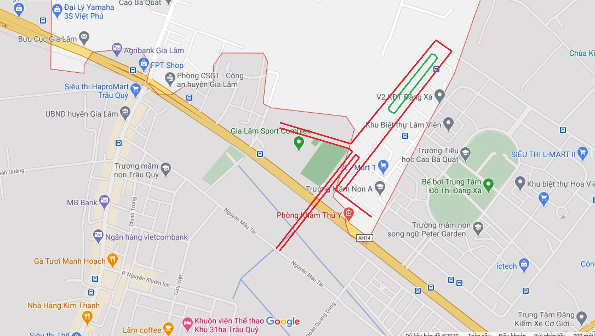 Ba đường sẽ mở theo qui hoạch ở xã Cổ Bi, Gia Lâm, Hà Nội - Ảnh 10.