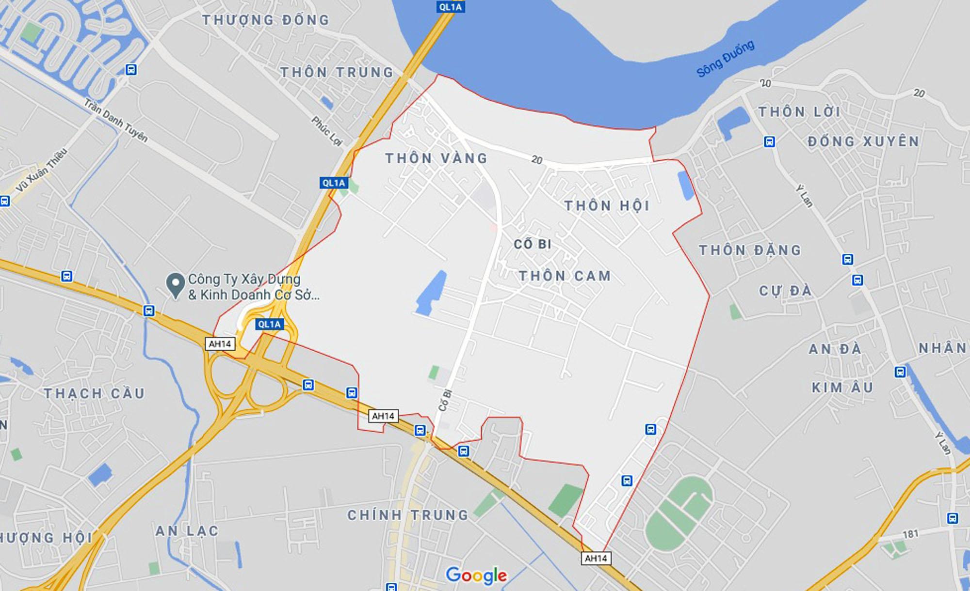 đường sẽ mở theo qui hoạch ở xã Cổ Bi, Gia Lâm, Hà Nội - Ảnh 1.
