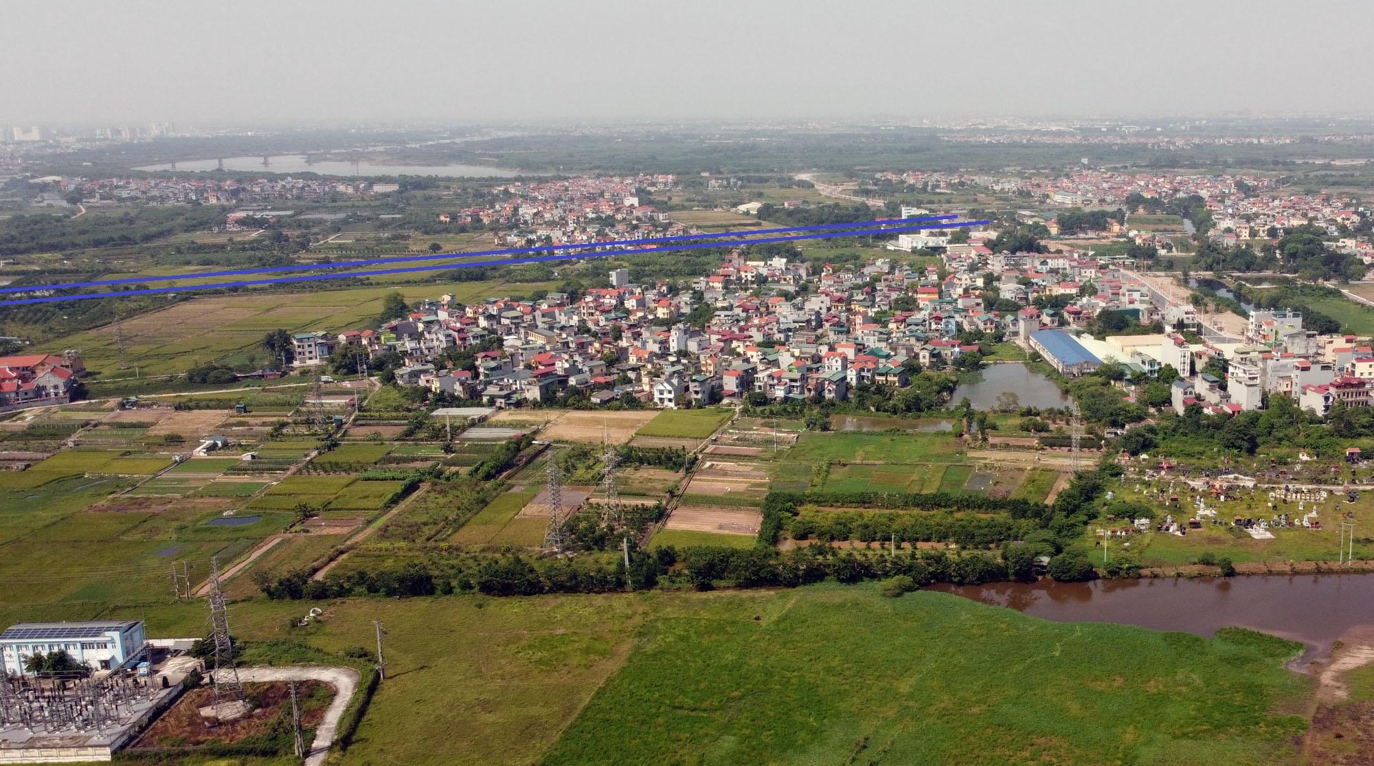 đường sẽ mở theo qui hoạch ở xã Đặng Xá, Gia Lâm, Hà Nội - Ảnh 7.