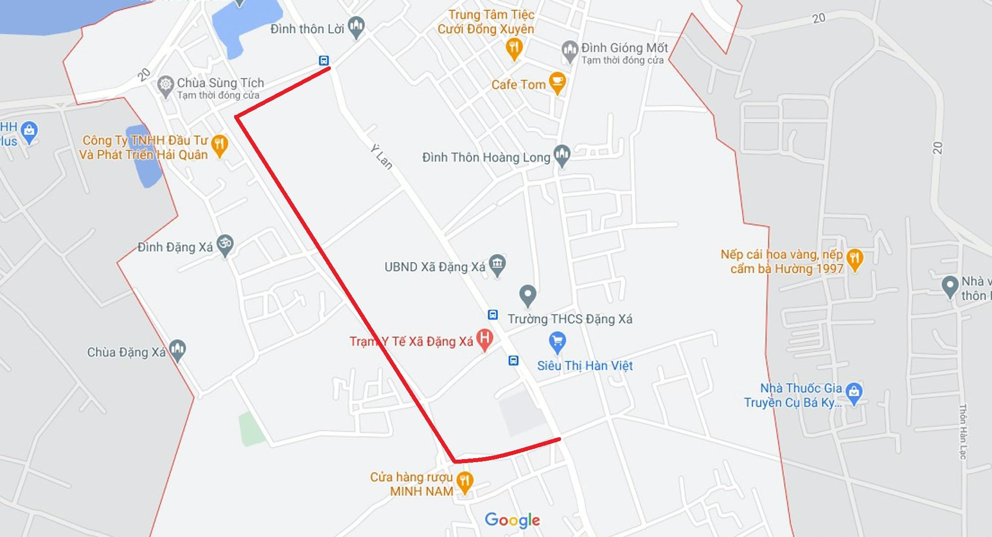 đường sẽ mở theo qui hoạch ở xã Đặng Xá, Gia Lâm, Hà Nội - Ảnh 9.