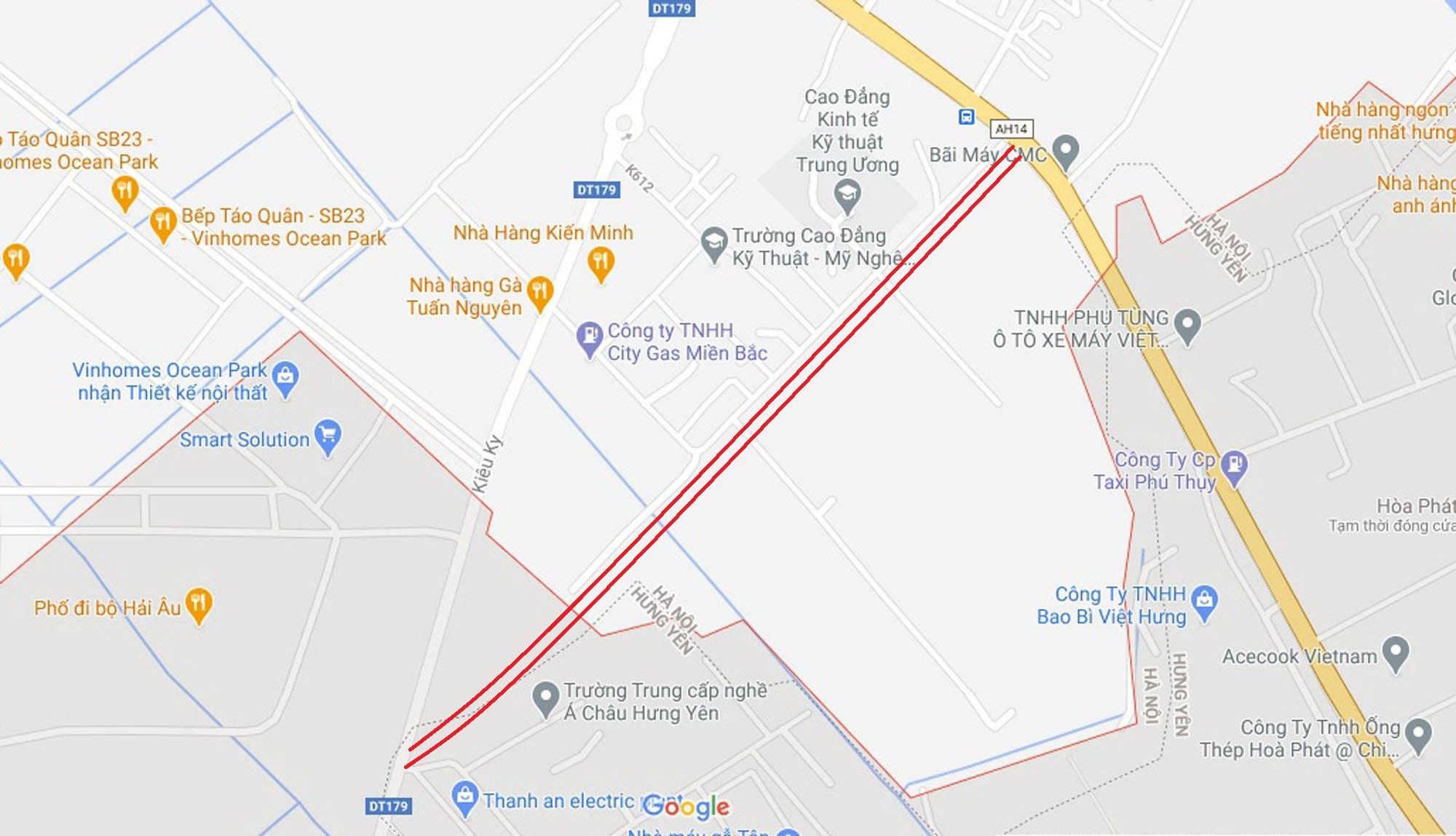 4 đường sẽ mở theo qui hoạch ở xã Dương Xá, Gia Lâm, Hà Nội - Ảnh 11.