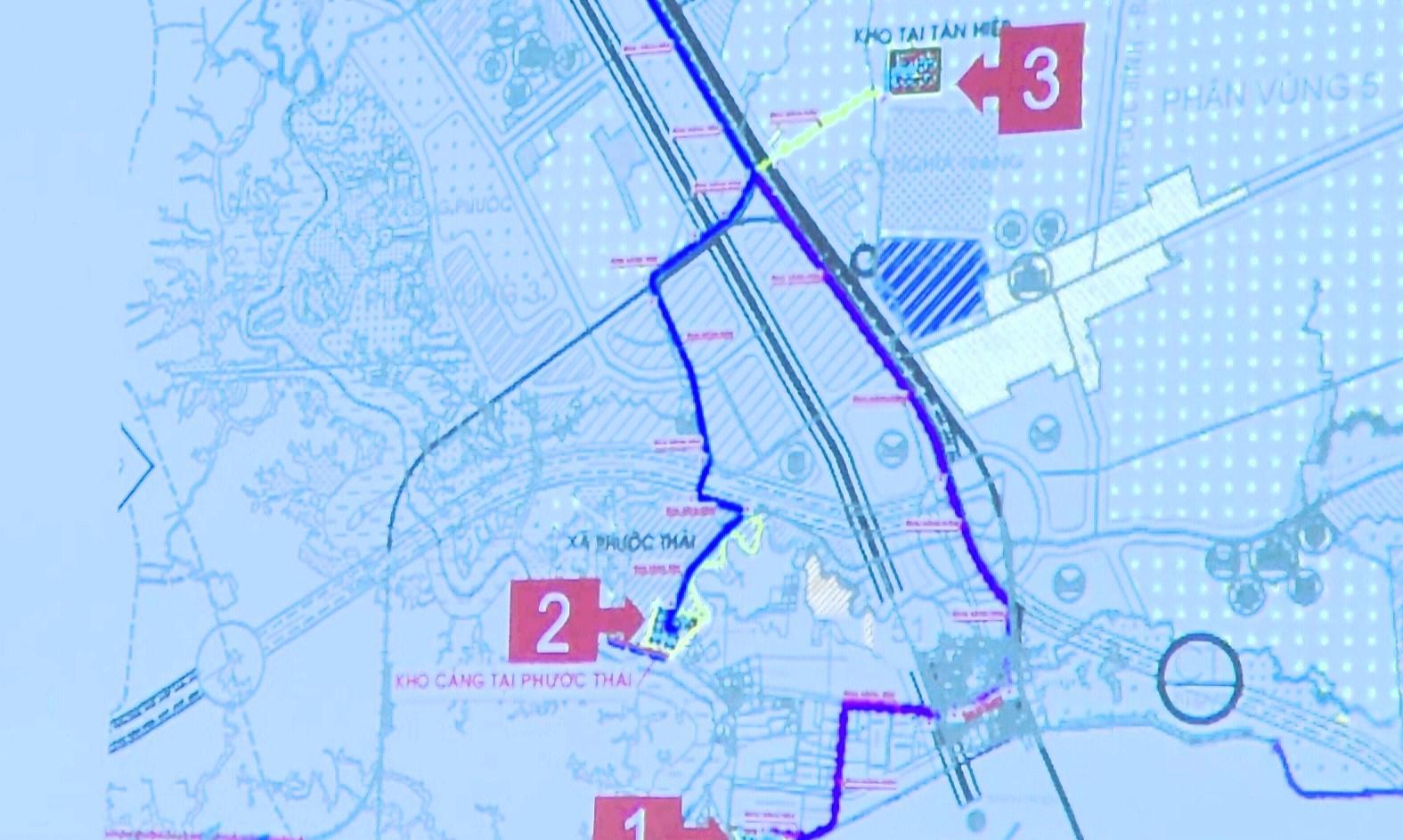 Đề xuất xây kho nhiên liệu cho sân bay Long Thành ở cảng Phước Thái - Ảnh 1.