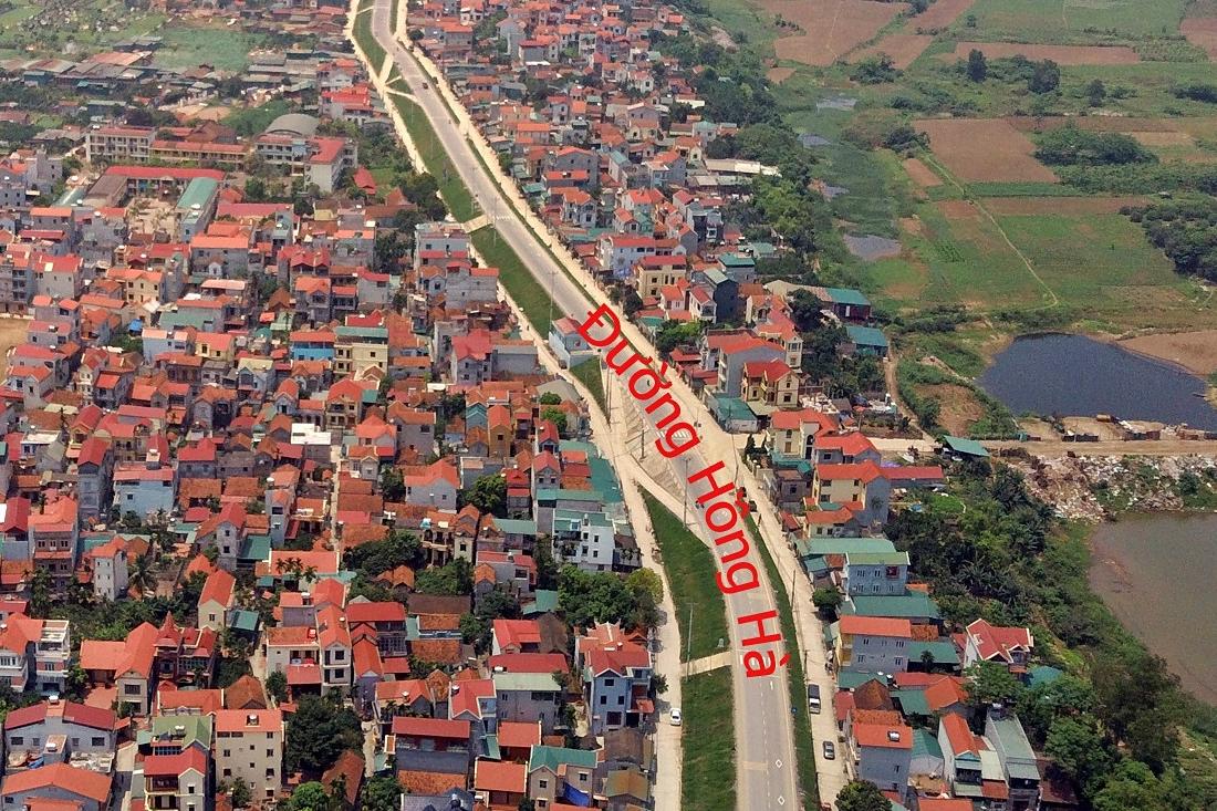 Duyệt qui hoạch khu đô thị gần 47 ha ở Đan Phượng, Hà Nội