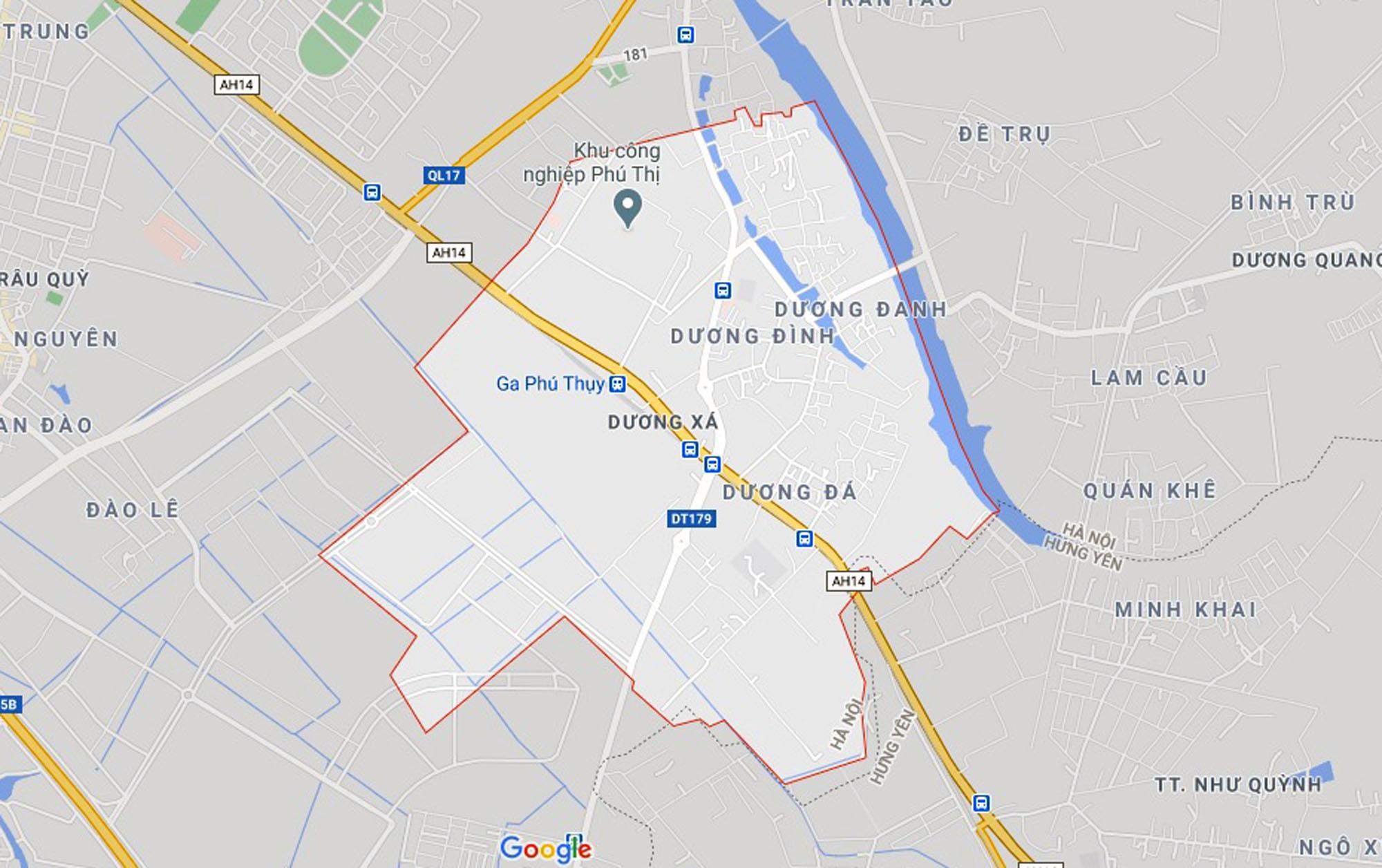 4 đường sẽ mở theo qui hoạch ở xã Dương Xá, Gia Lâm, Hà Nội - Ảnh 1.