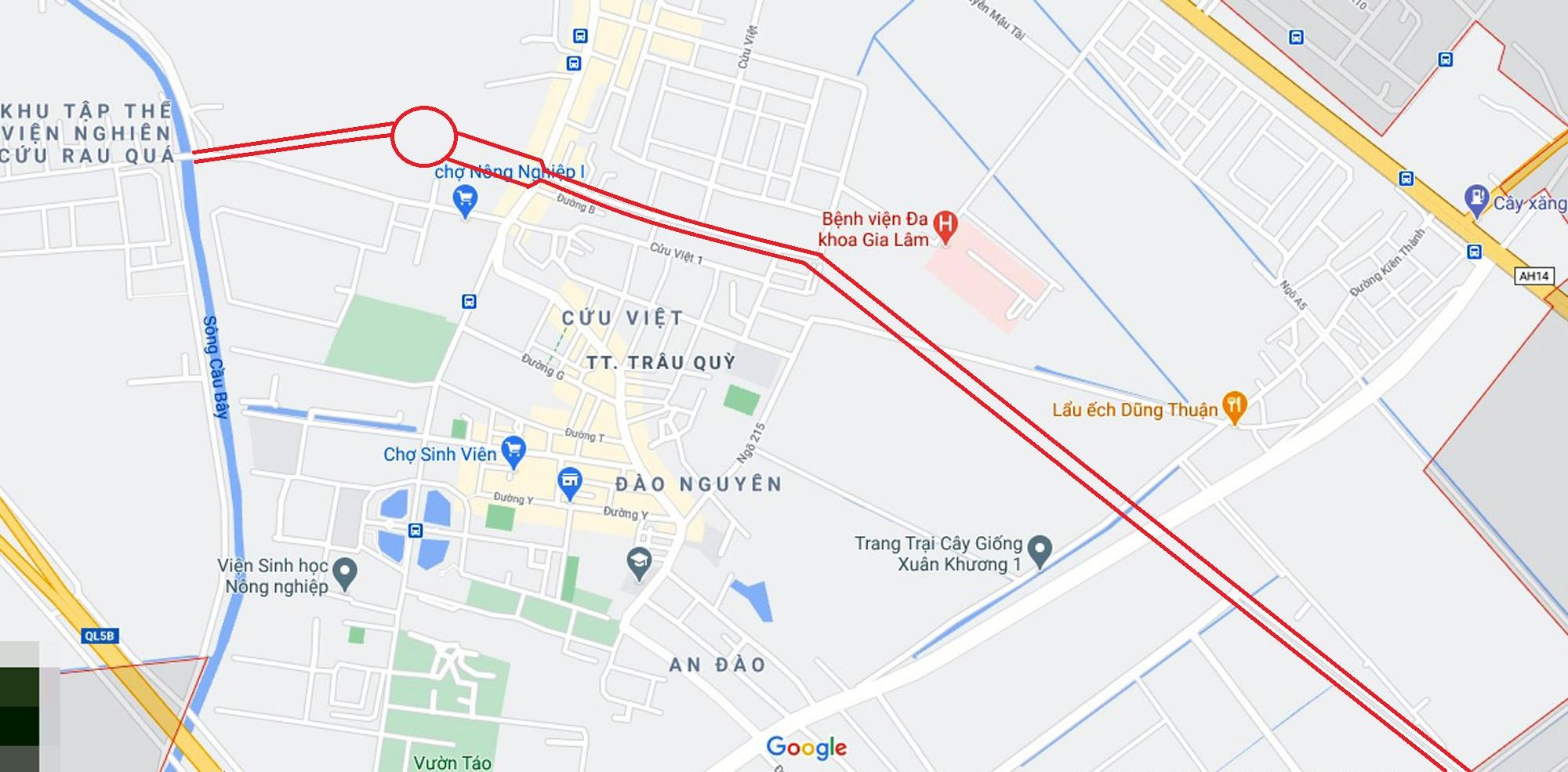 Ba đường sẽ mở theo qui hoạch ở thị trấn Trâu Quỳ, Gia Lâm, Hà Nội - Ảnh 2.