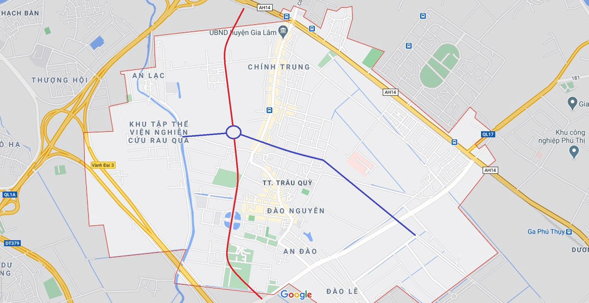 Ba đường sẽ mở theo qui hoạch ở thị trấn Trâu Quỳ, Gia Lâm, Hà Nội - Ảnh 10.