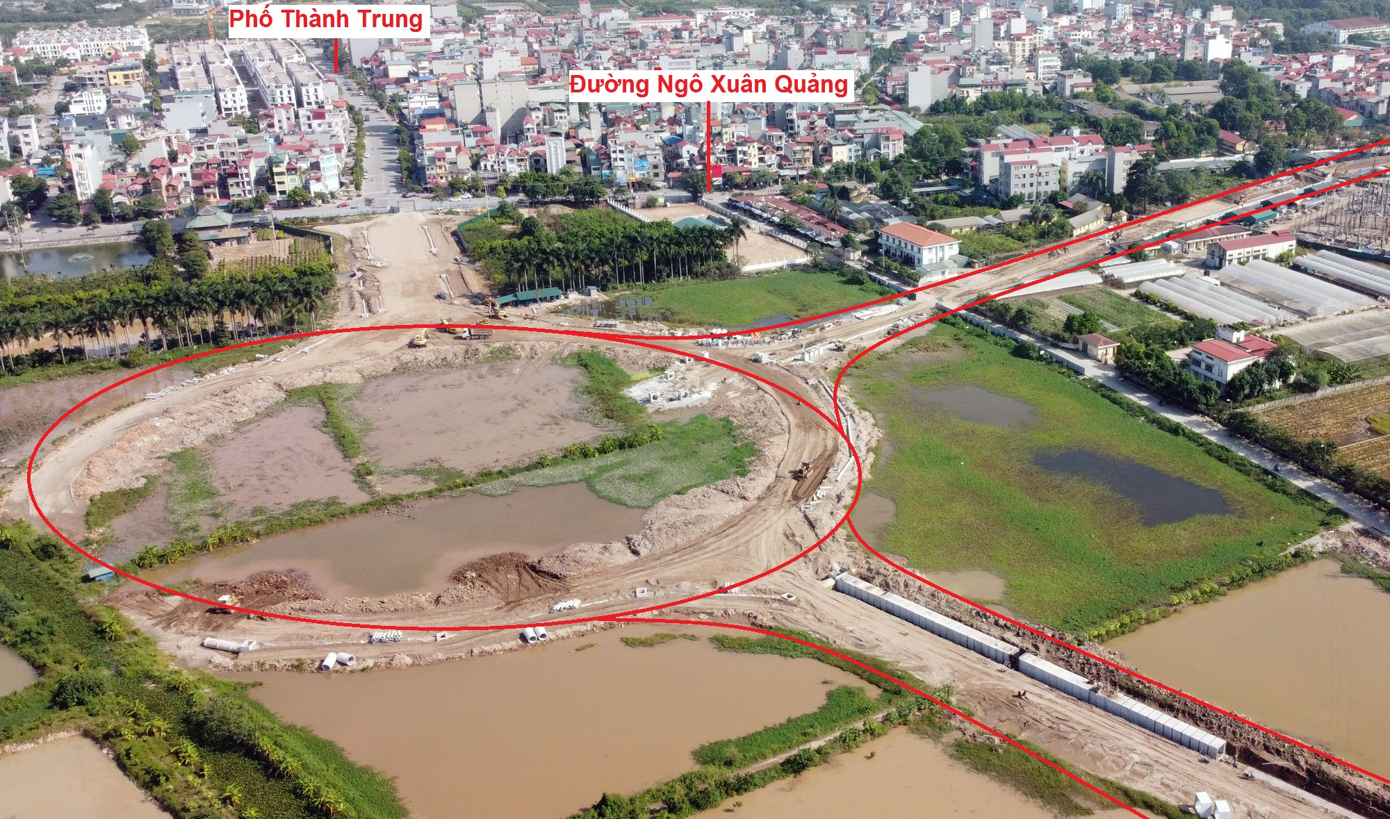 Ba đường sẽ mở theo qui hoạch ở thị trấn Trâu Quỳ, Gia Lâm, Hà Nội - Ảnh 12.
