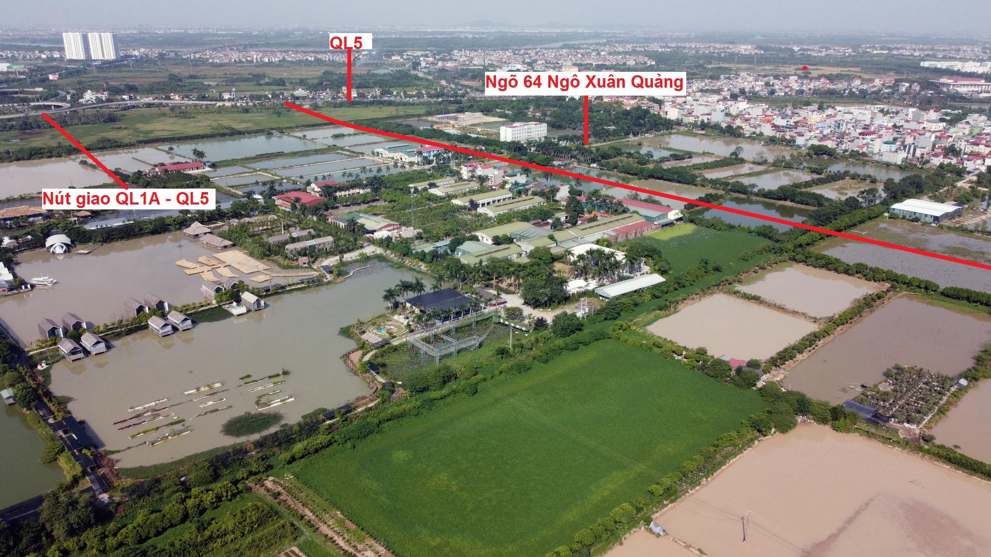 Ba đường sẽ mở theo qui hoạch ở thị trấn Trâu Quỳ, Gia Lâm, Hà Nội - Ảnh 14.