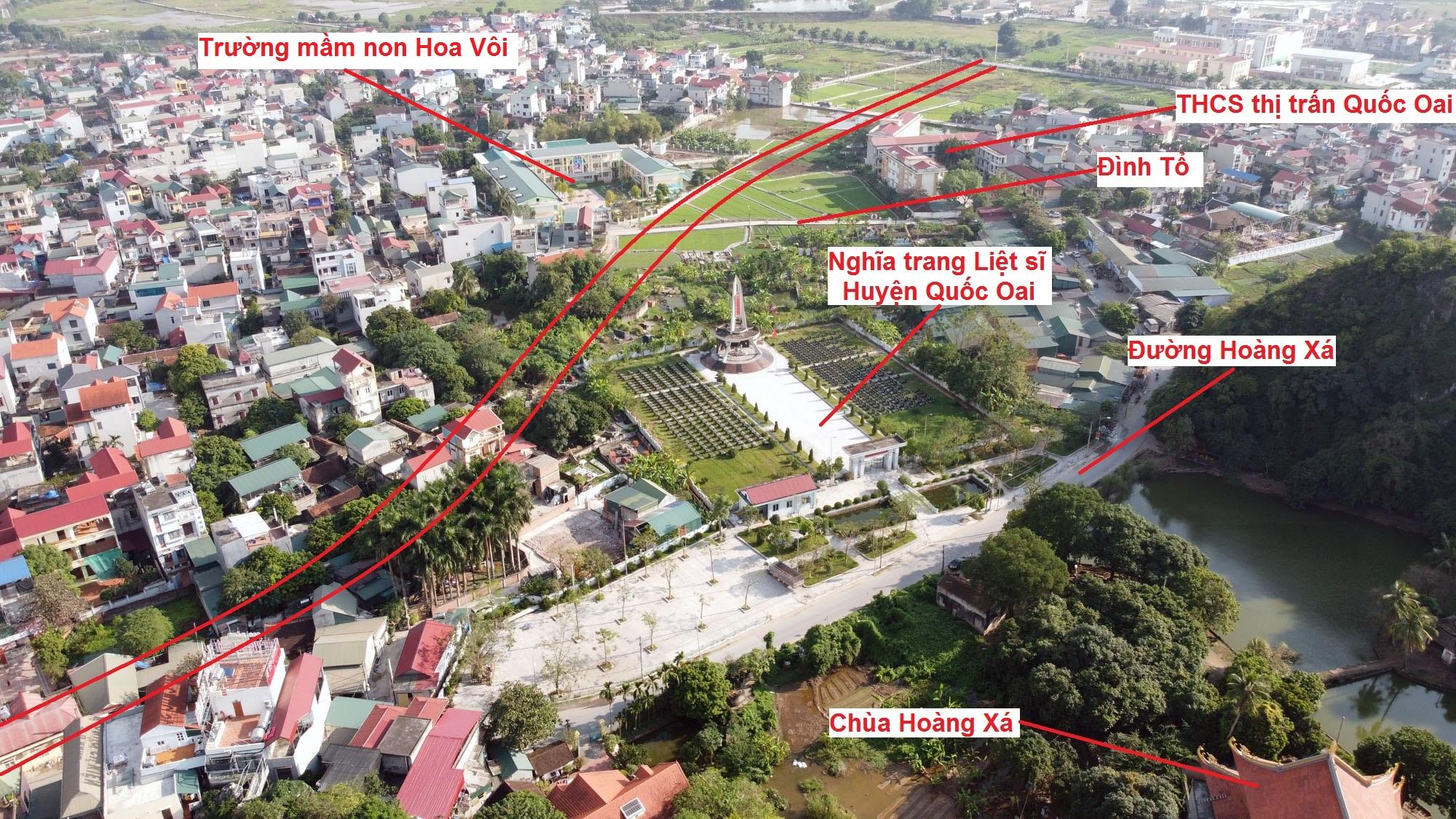 Ba đường sẽ mở theo qui hoạch ở thị trấn Quốc Oai, Quốc Oai, Hà Nội - Ảnh 9.