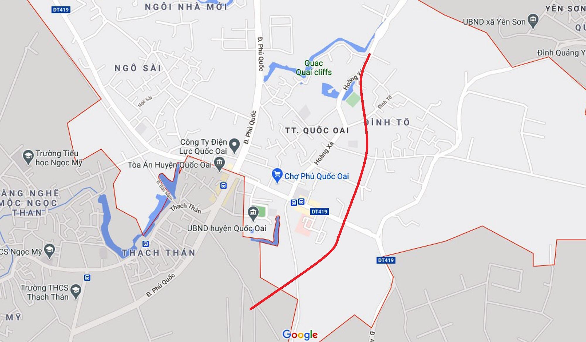 Ba đường sẽ mở theo qui hoạch ở thị trấn Quốc Oai, Quốc Oai, Hà Nội - Ảnh 8.
