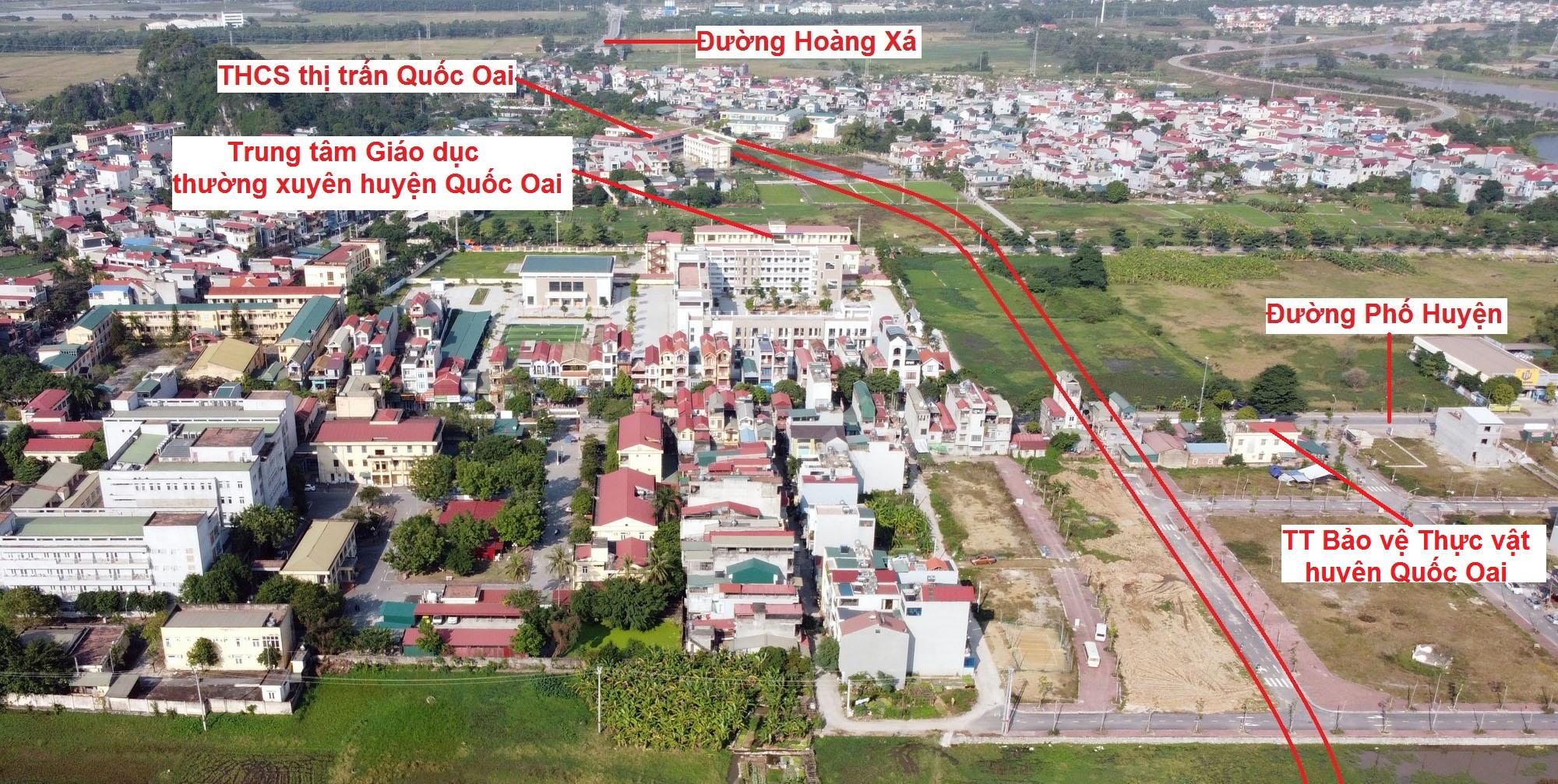 Ba đường sẽ mở theo qui hoạch ở thị trấn Quốc Oai, Quốc Oai, Hà Nội - Ảnh 10.