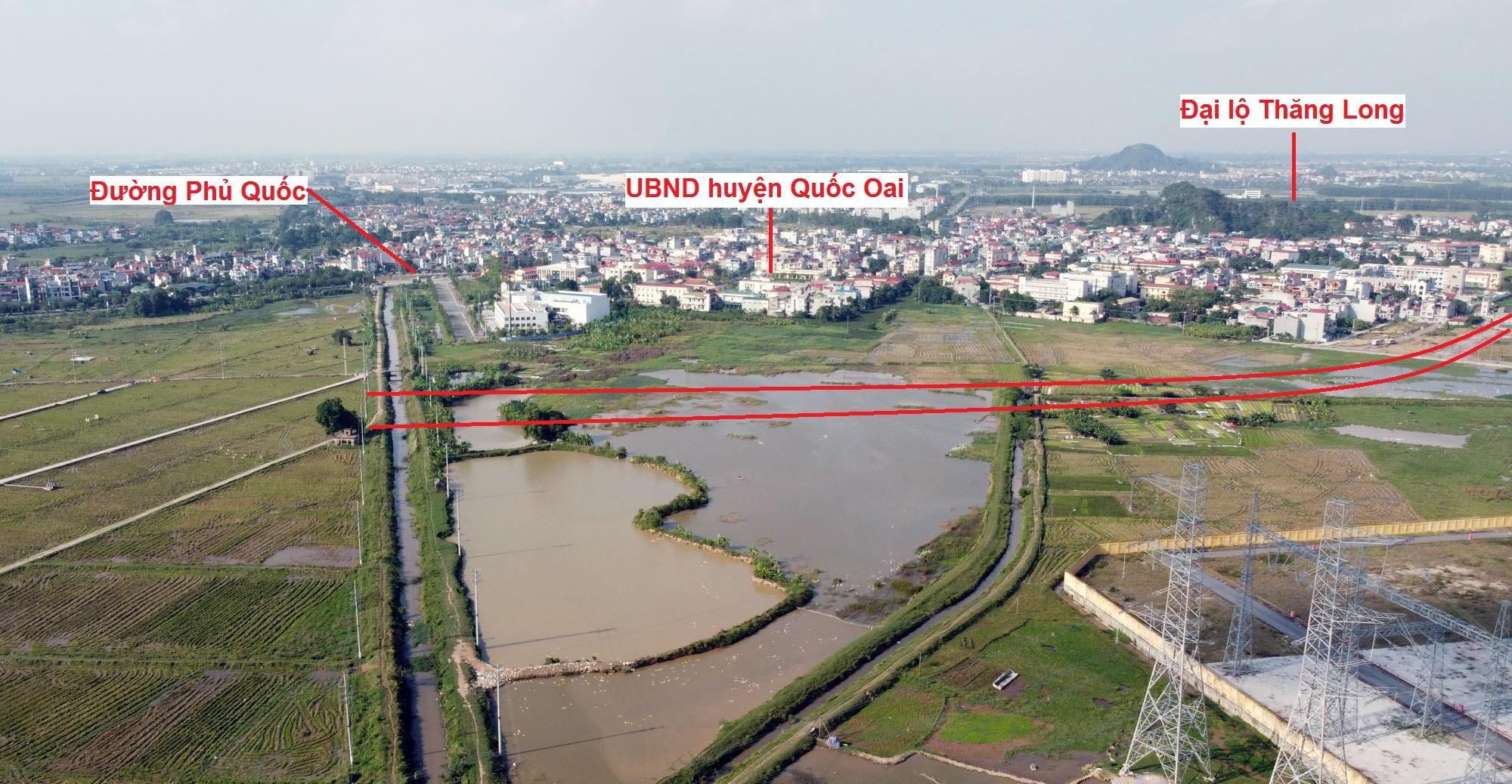Ba đường sẽ mở theo qui hoạch ở thị trấn Quốc Oai, Quốc Oai, Hà Nội - Ảnh 11.