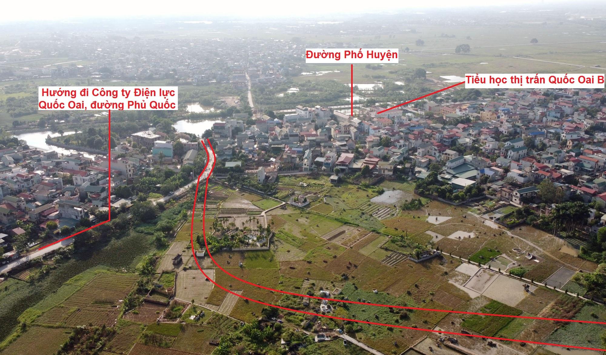 Ba đường sẽ mở theo qui hoạch ở thị trấn Quốc Oai, Quốc Oai, Hà Nội - Ảnh 14.