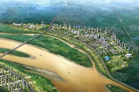 Đông Anh đề nghị Hà Nội sớm duyệt qui hoạch phân khu đô thị sông Hồng và sông Đuông - Ảnh 1.