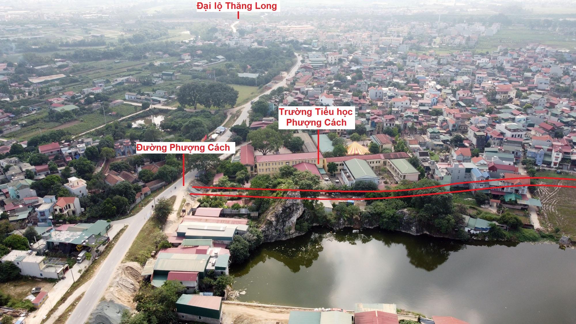 Ba đường sẽ mở theo qui hoạch ở xã Phượng Cách, Quốc Oai, Hà Nội - Ảnh 7.