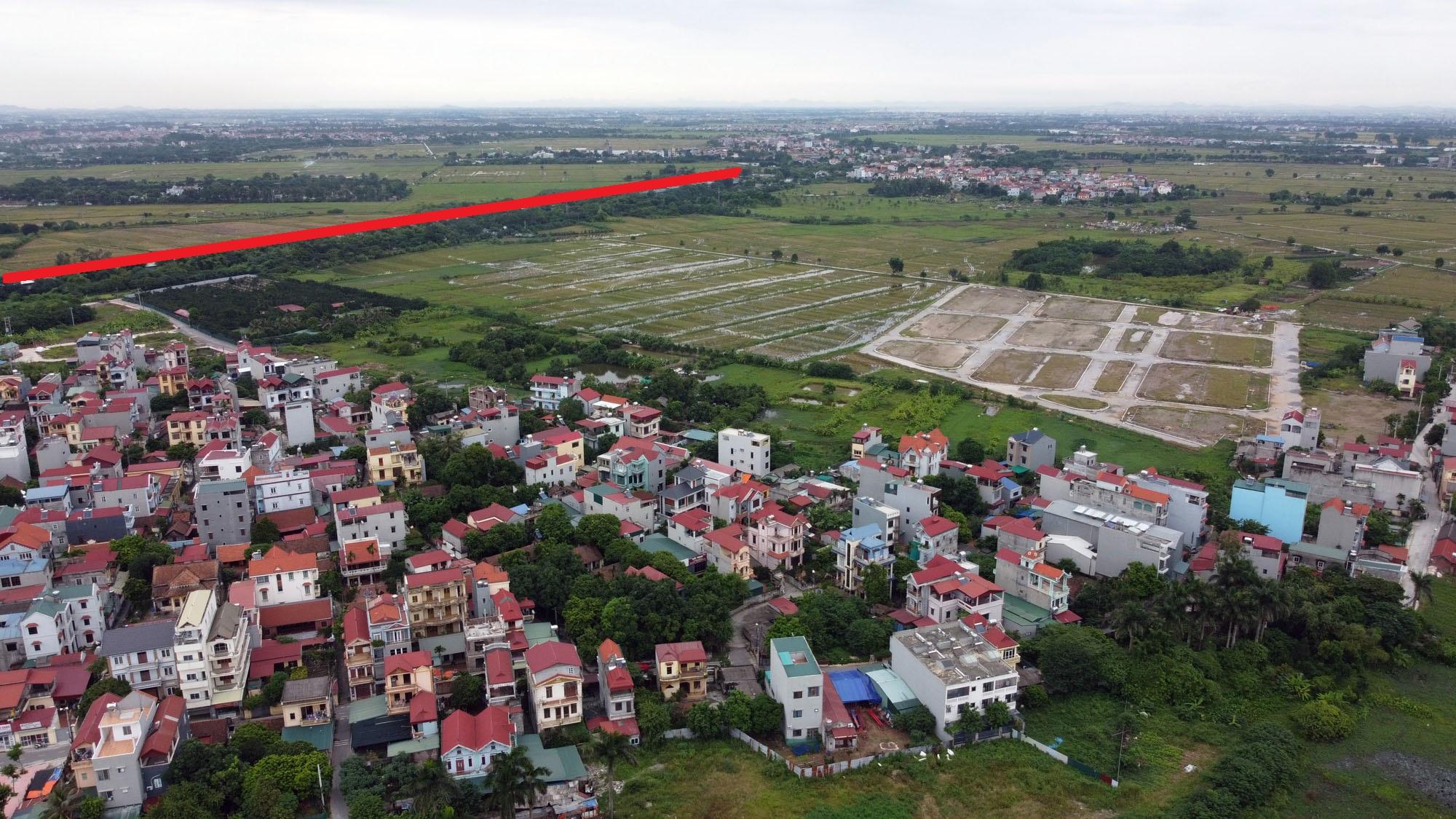đường sẽ mở theo qui hoạch ở xã Đông Hội, Đông Anh, Hà Nội - Ảnh 7.
