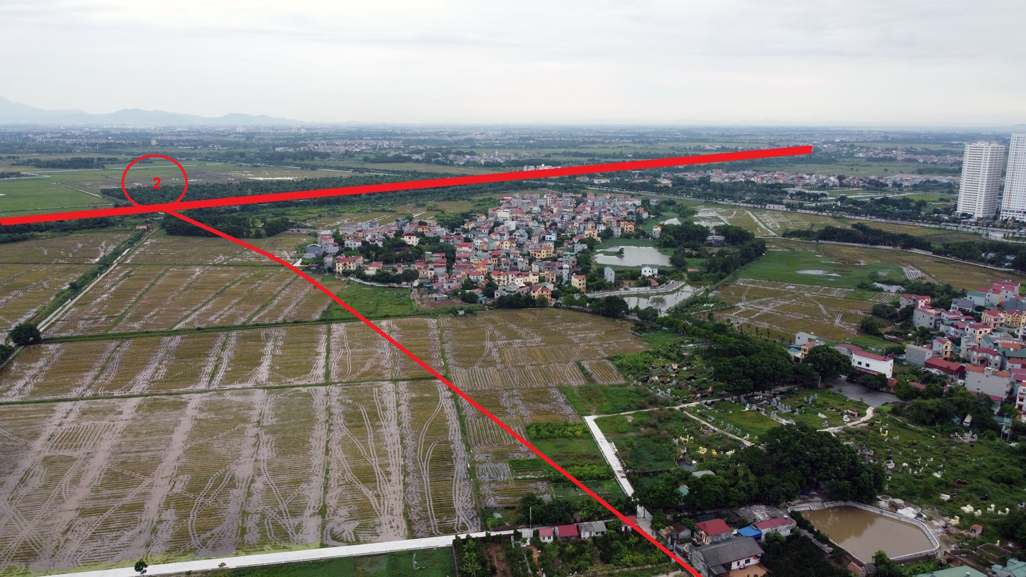 đường sẽ mở theo qui hoạch ở xã Đông Hội, Đông Anh, Hà Nội - Ảnh 10.