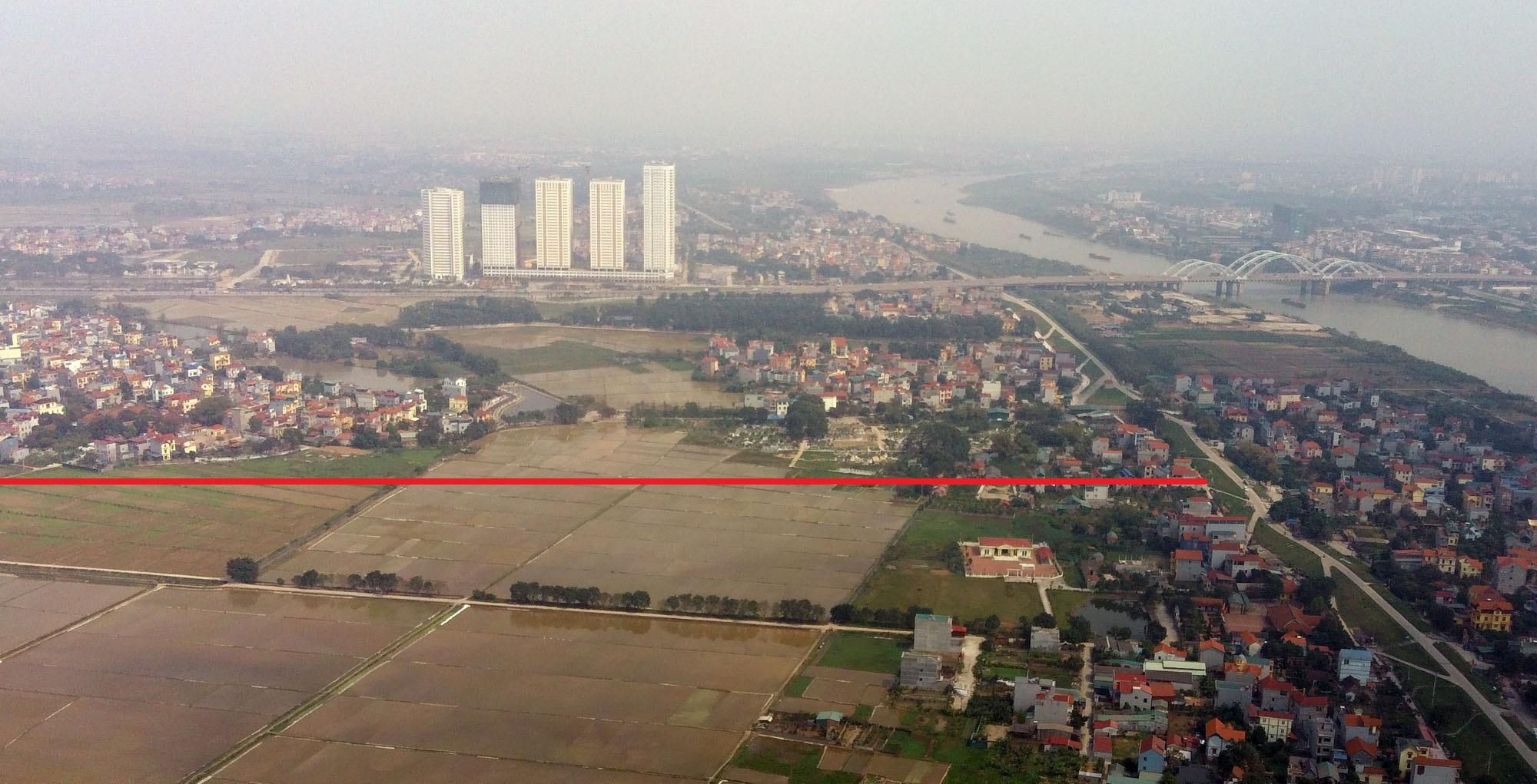 đường sẽ mở theo qui hoạch ở xã Đông Hội, Đông Anh, Hà Nội - Ảnh 11.