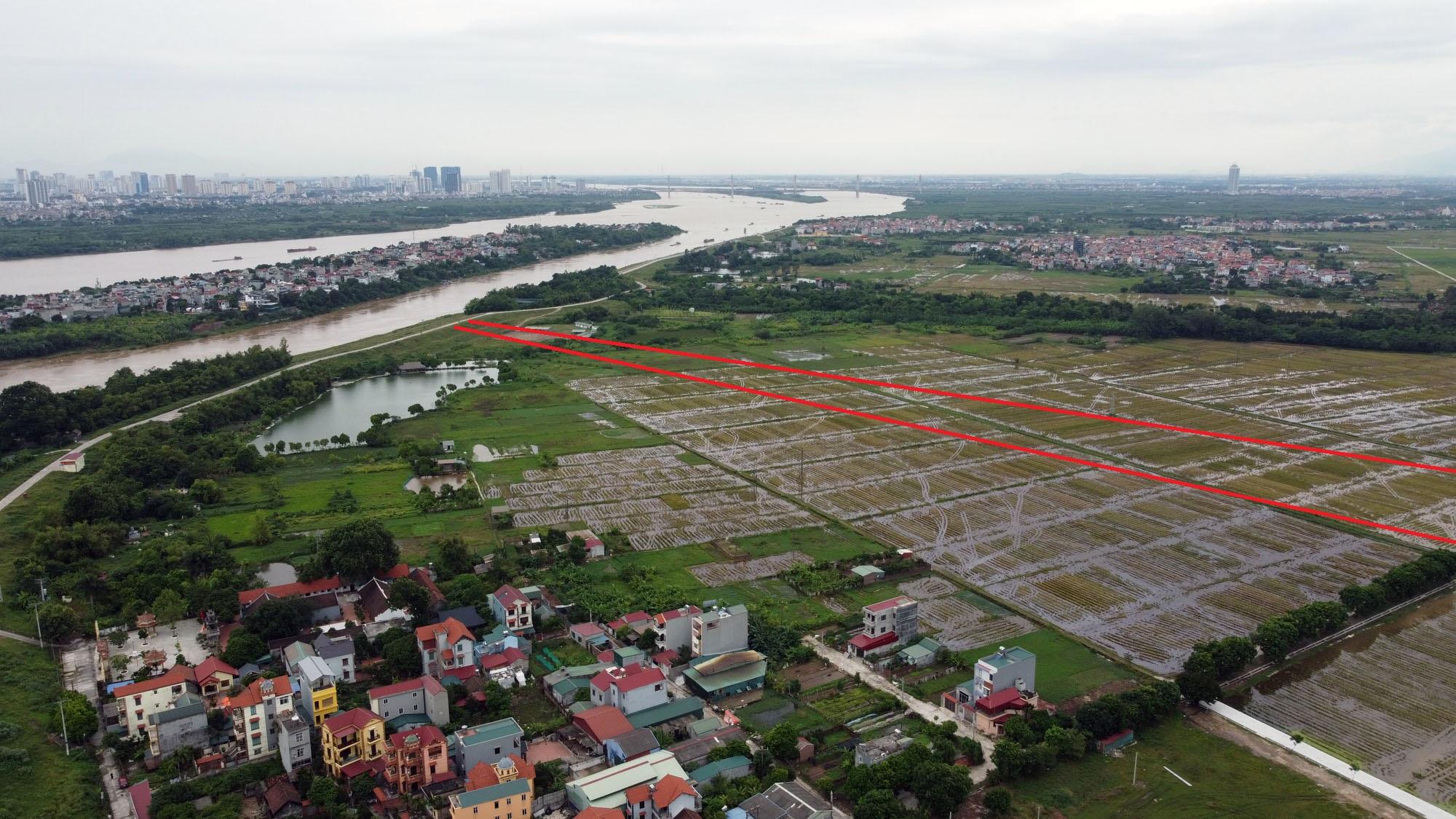 4 đường sẽ mở theo qui hoạch ở xã Đông Hội, Đông Anh, Hà Nội - Ảnh 13.