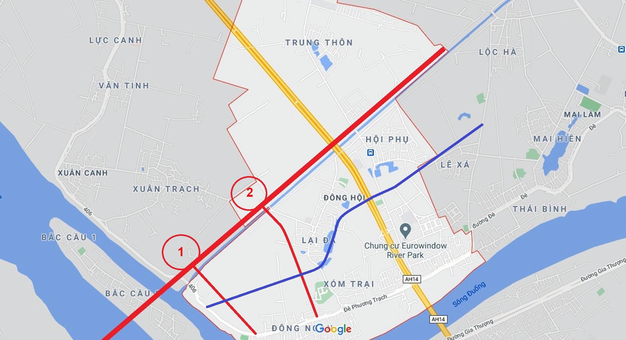 4 đường sẽ mở theo qui hoạch ở xã Đông Hội, Đông Anh, Hà Nội - Ảnh 12.