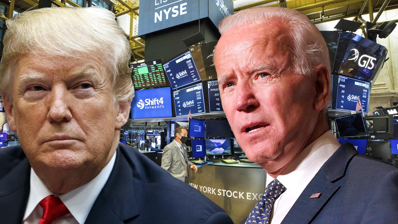 Dow Jones futures tăng mạnh sau động thái nhún nhường của ông Trump - Ảnh 1.